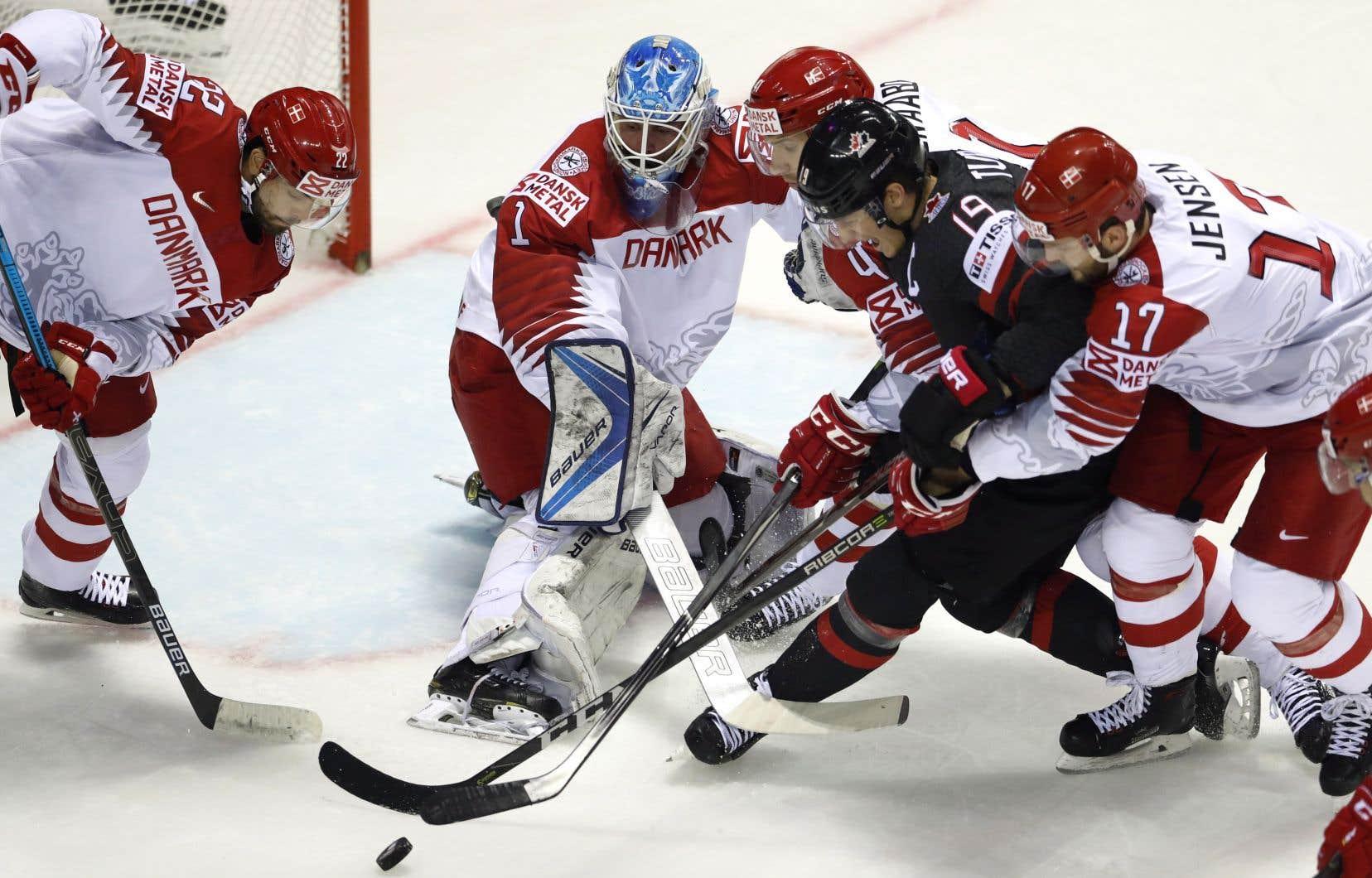 Le Canada a converti un avantage numérique sur trois, alors que les Danois ont laissé filer quatre supériorités.