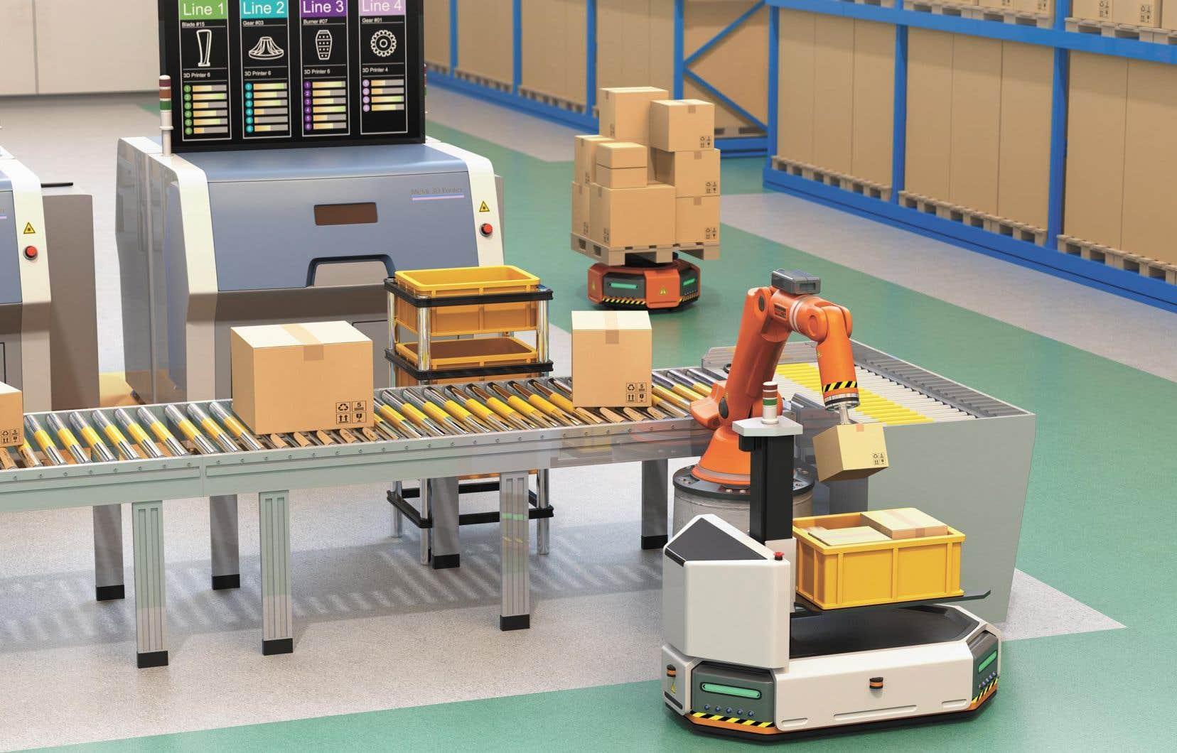 L'industrie 4.0, c'est plus que l'intelligence artificielle, mais sans elle, rien n'est possible.