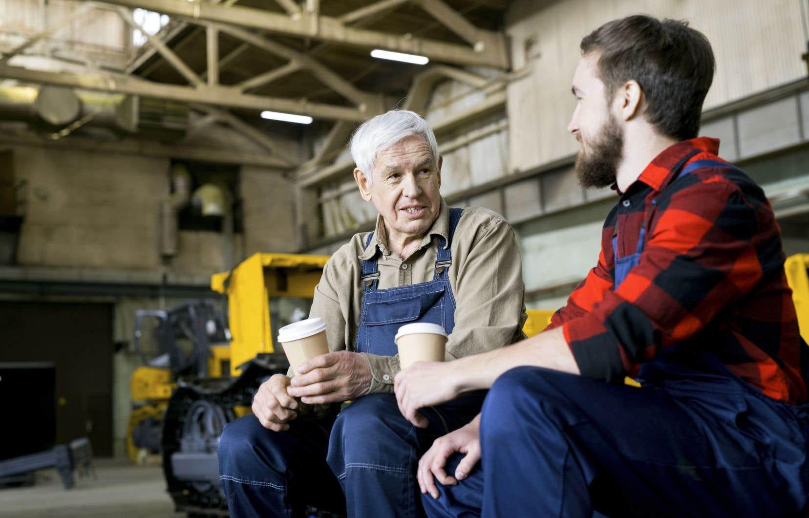 Certains employeurs aiment la main-d'œuvre plus âgée en raison de son expérience de vie.