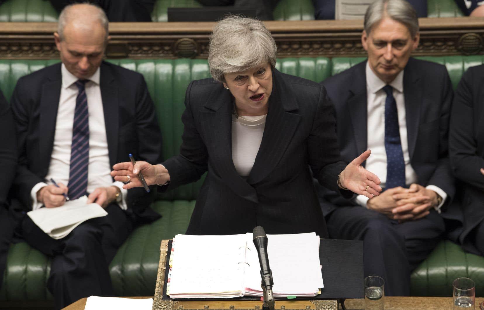 <p>La première ministre britannique avait présenté ce projet de loi comme «la dernière chance» de mettre en œuvre la sortie de l'UE.</p>