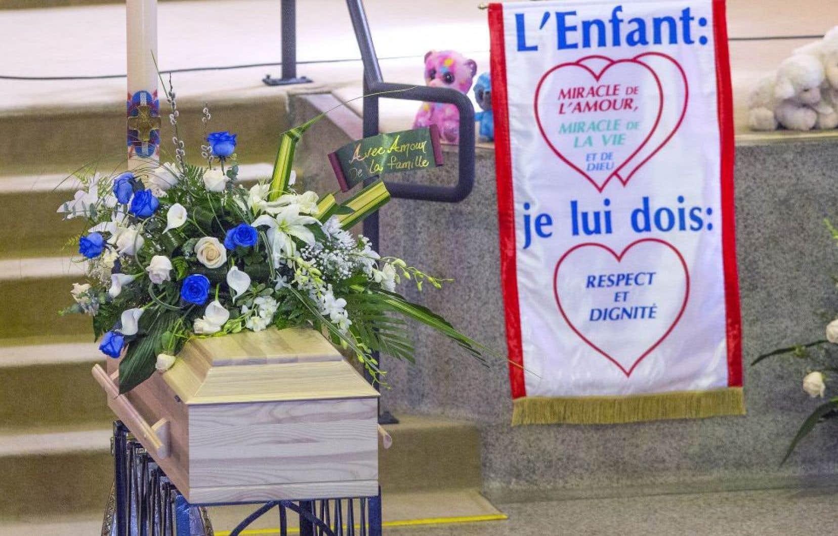 Les funérailles de l'enfant de sept ans ont été célébrées le 9 mai dernier à Granby.