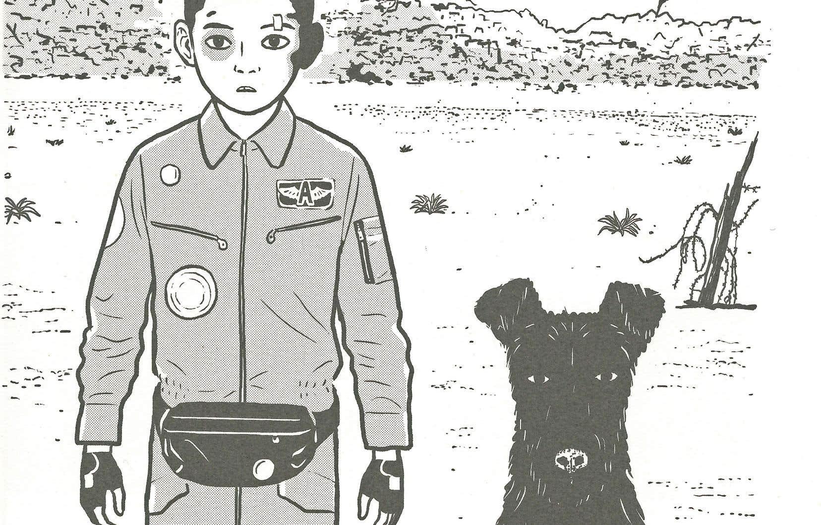 Le livre de Mochizuki condense 101 minutes de «stop motion» en quatre chapitres.