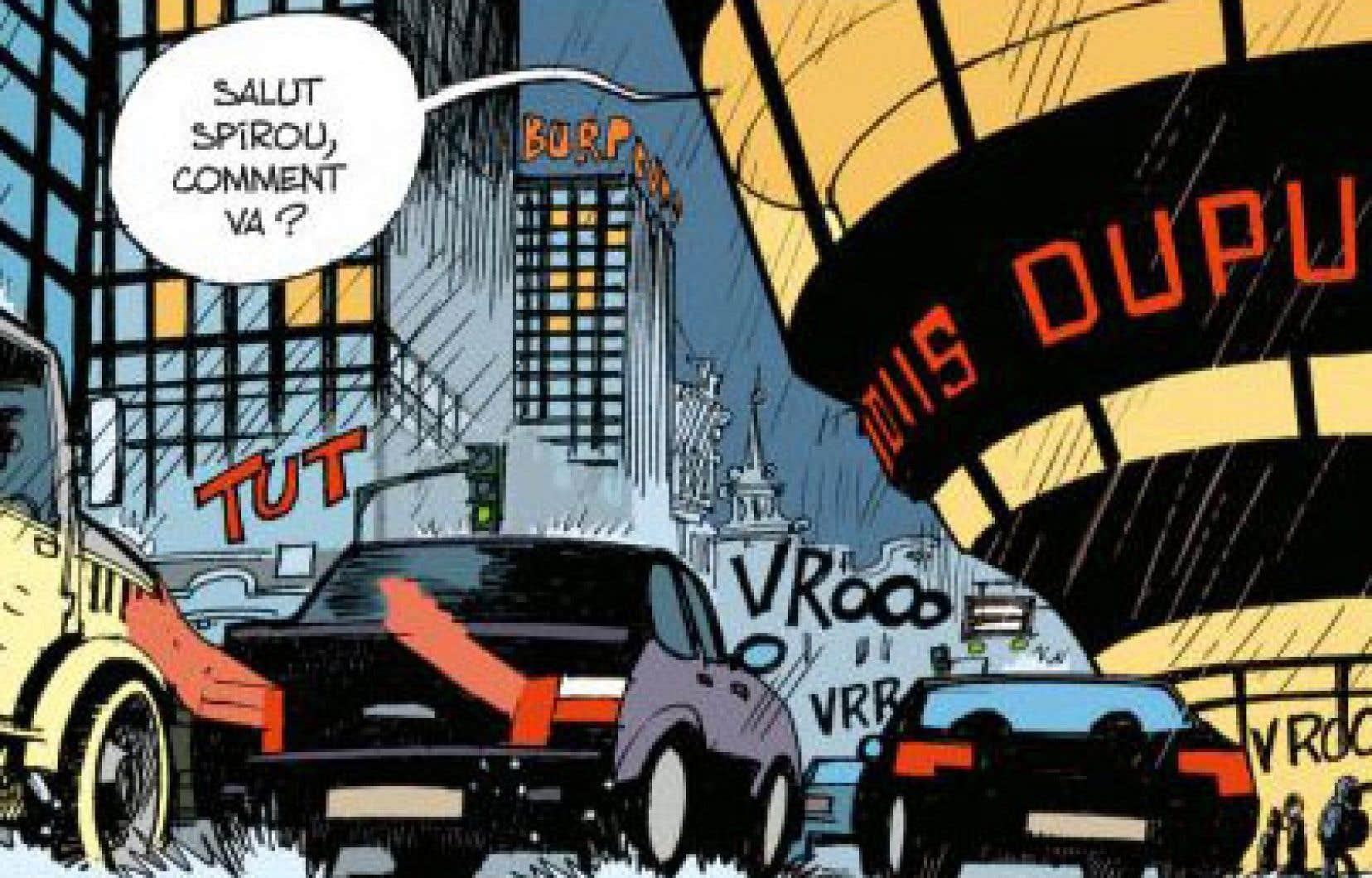 Depuis 10 ans, Yoann et Velhmann sont les repreneurs des aventures de Spirou et Fantasio. Le dernier paru, «La colère du Marsupilami», a été événementiel.