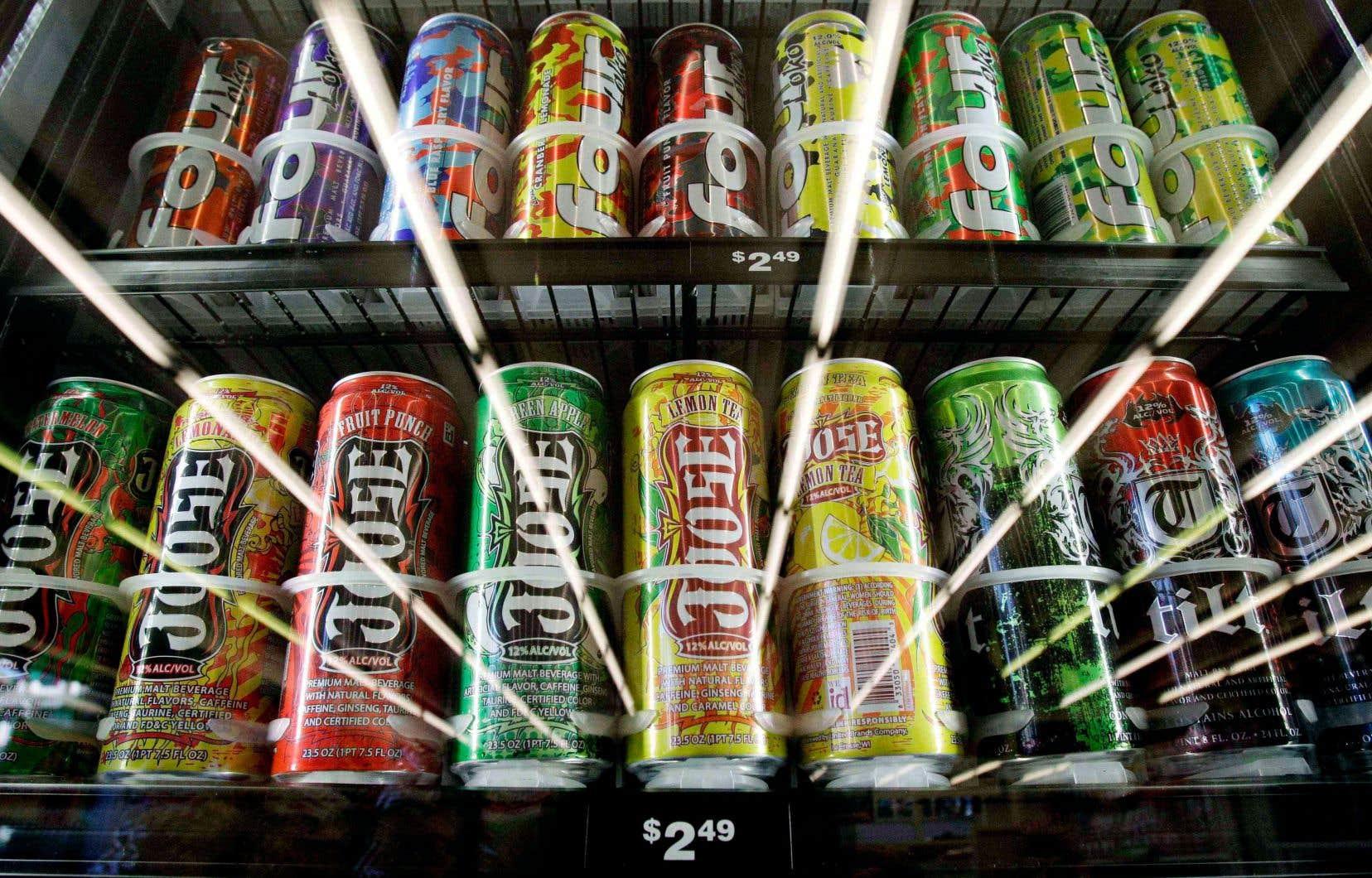 Un contenant de boisson sucrée alcoolisée devra contenir une dose d'alcool maximale équivalant à une consommation et demie.