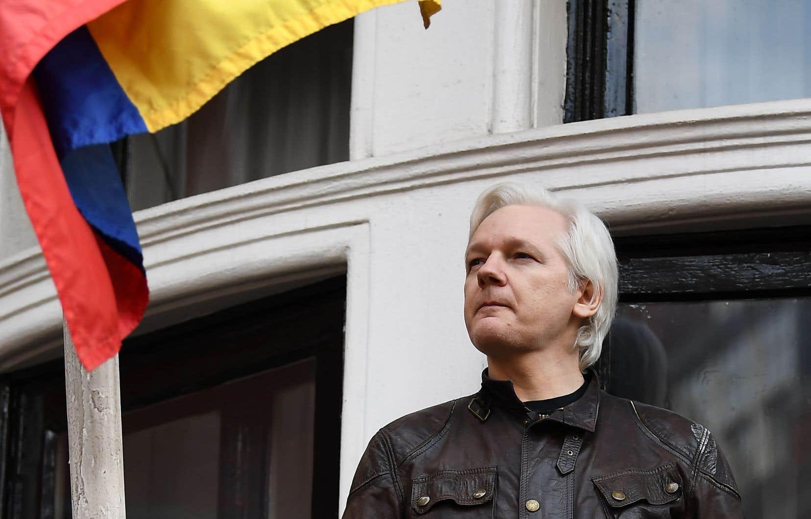 Le fondateur de WikiLeaks, Julian Assange