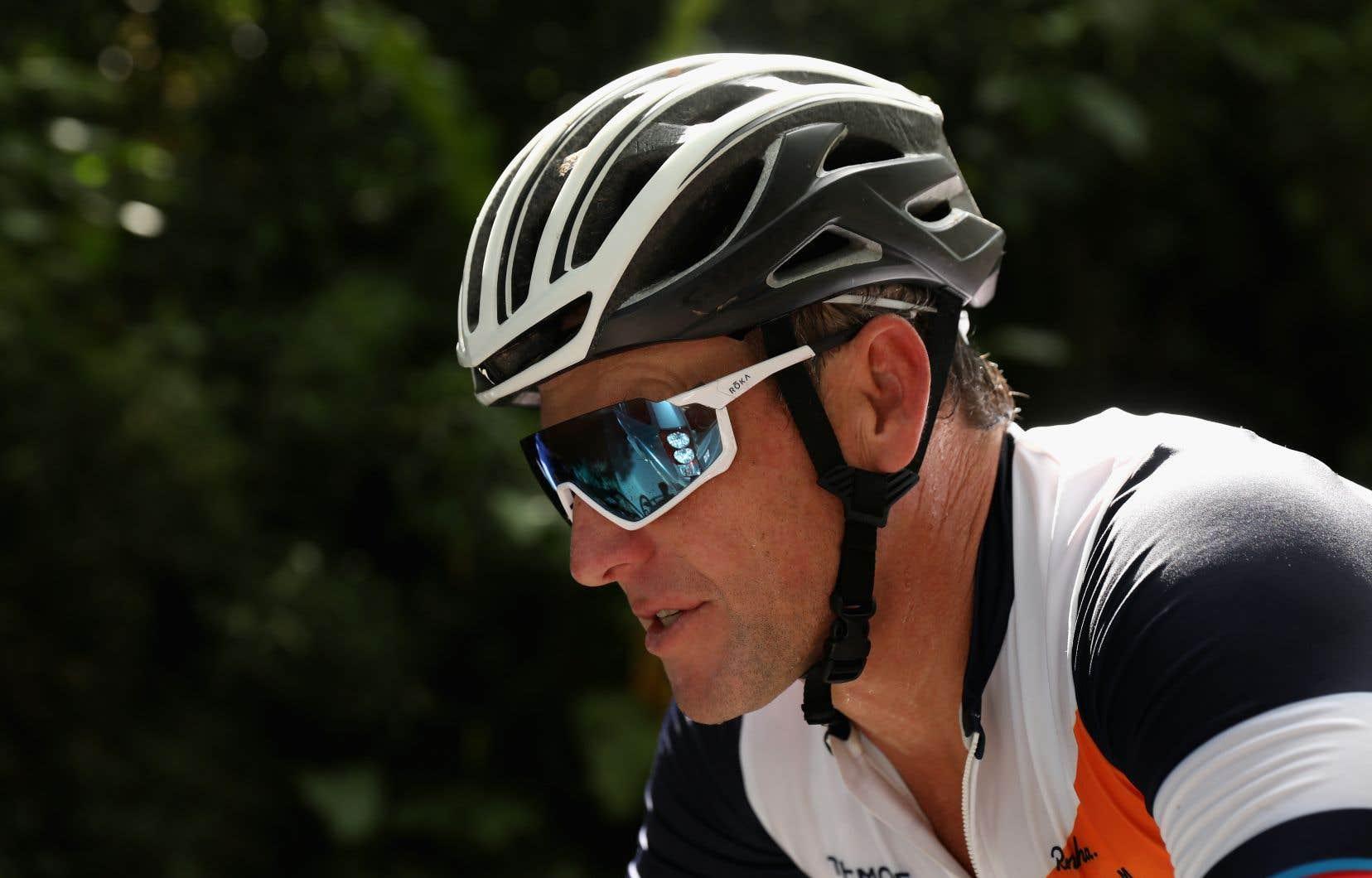Le cycliste Lance Armstrong, photographié en novembre 2018