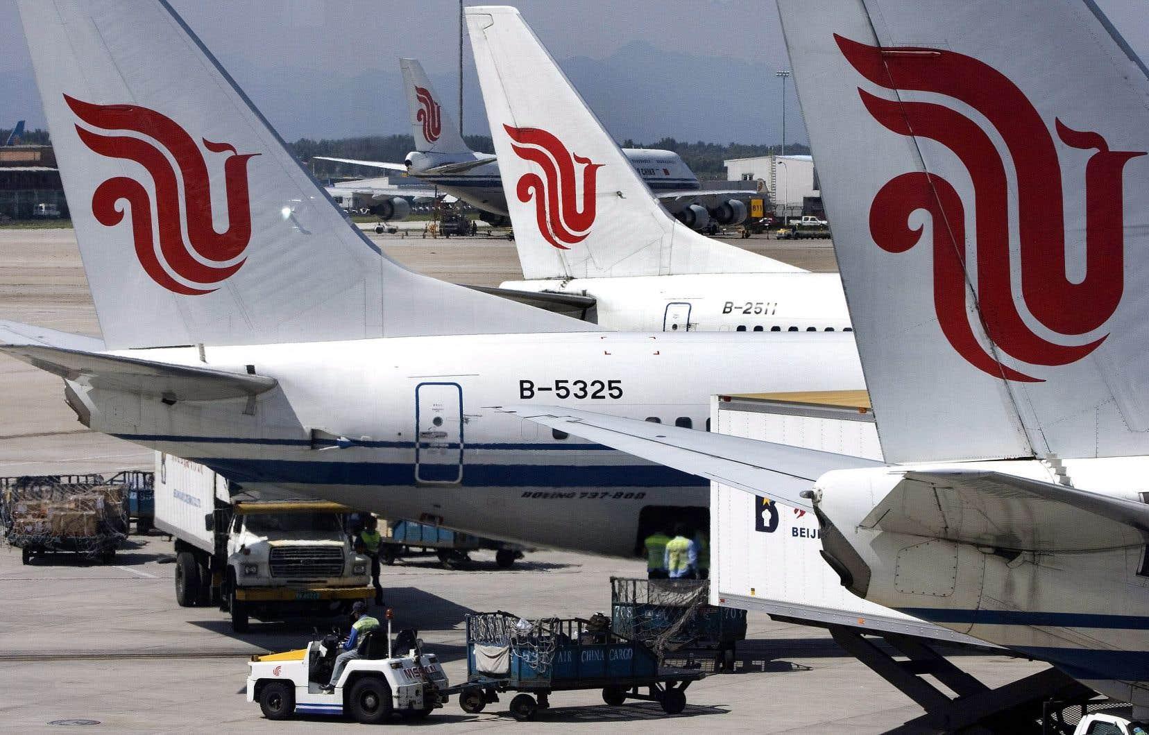 La Chine avait été le tout premier pays au monde à ordonner, le 11mars, à ses transporteurs de clouer au sol ses Boeing 737 MAX 8, après deux drames aériens impliquant ce modèle.