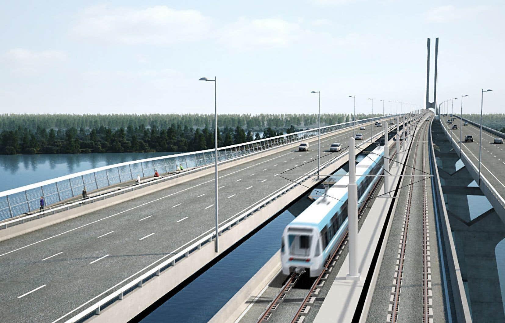Le plan du REM actuellement en chantier comprend une grande ligne qui va de Deux-Montagnes jusqu'en Montérégie, en passant par le centre-ville de Montréal, mais aussi des antennes dans l'ouest de l'île et vers l'aéroport Montréal-Trudeau.