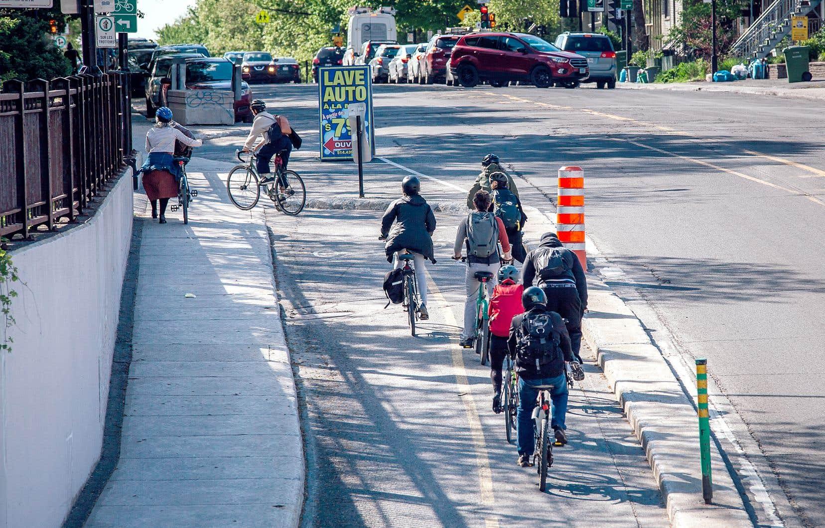 Montréal consacrera 15millions par année au Réseau express vélo qui, à terme, comprendra 17 axes aménagés sur 184 kilomètres.