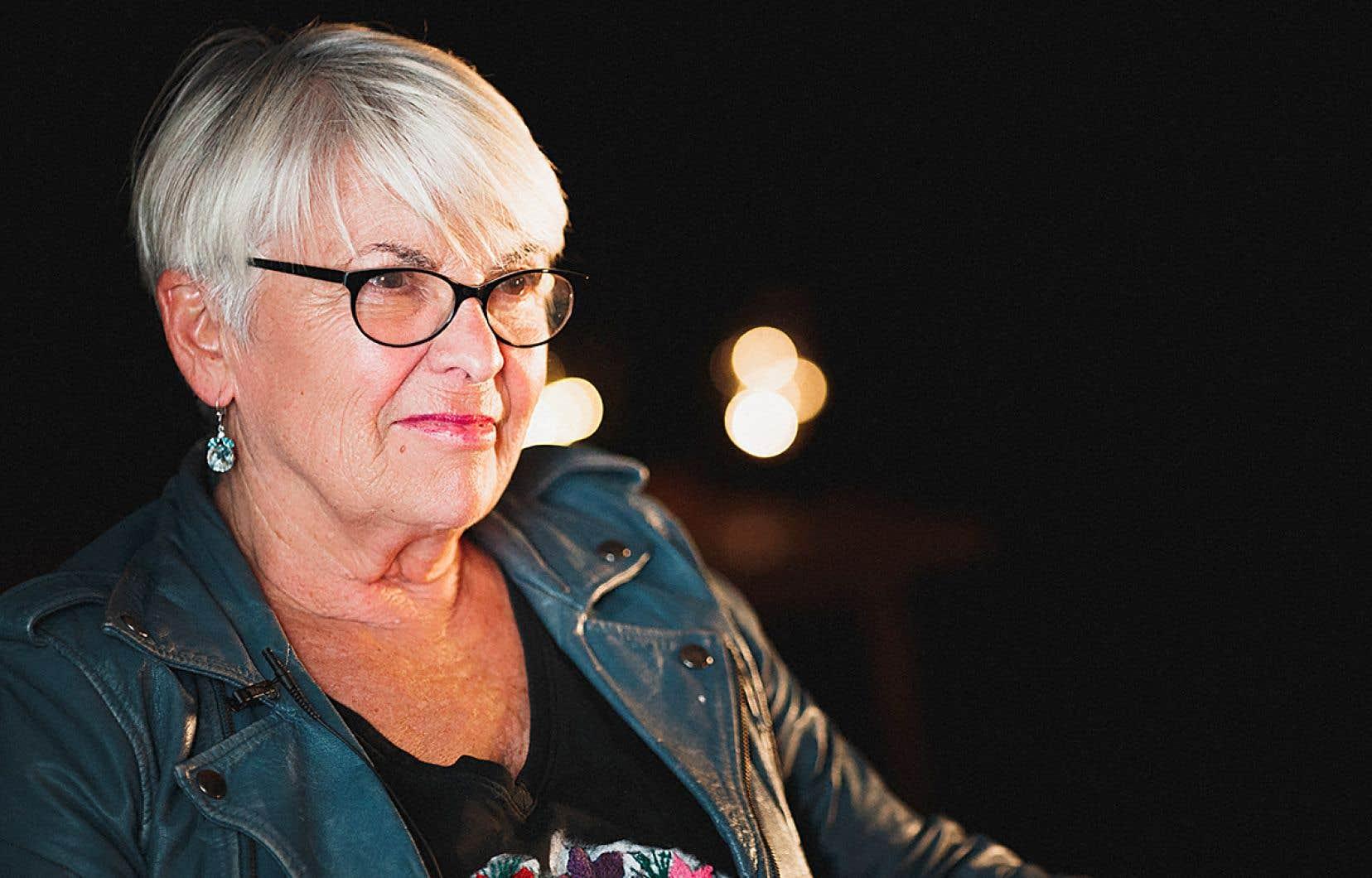 La femme de théâtre Brigitte Haentjens