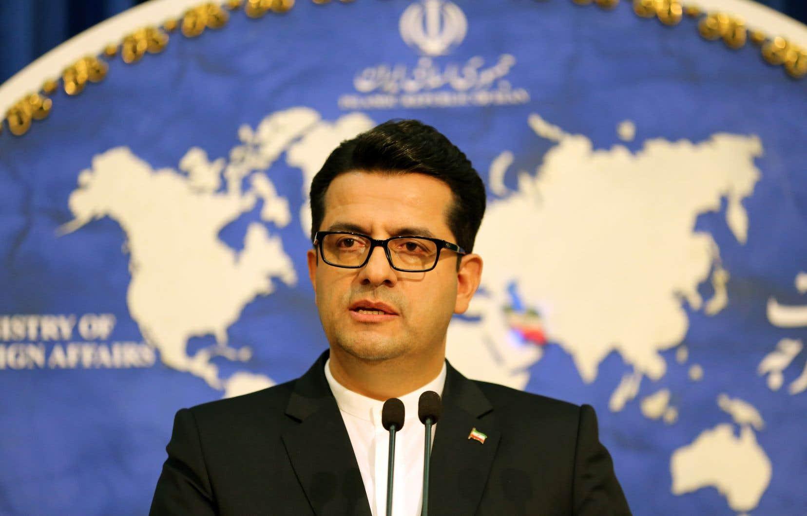 Abbas Mousavi, porte-parole du Ministère des Affaires étrangères iranien