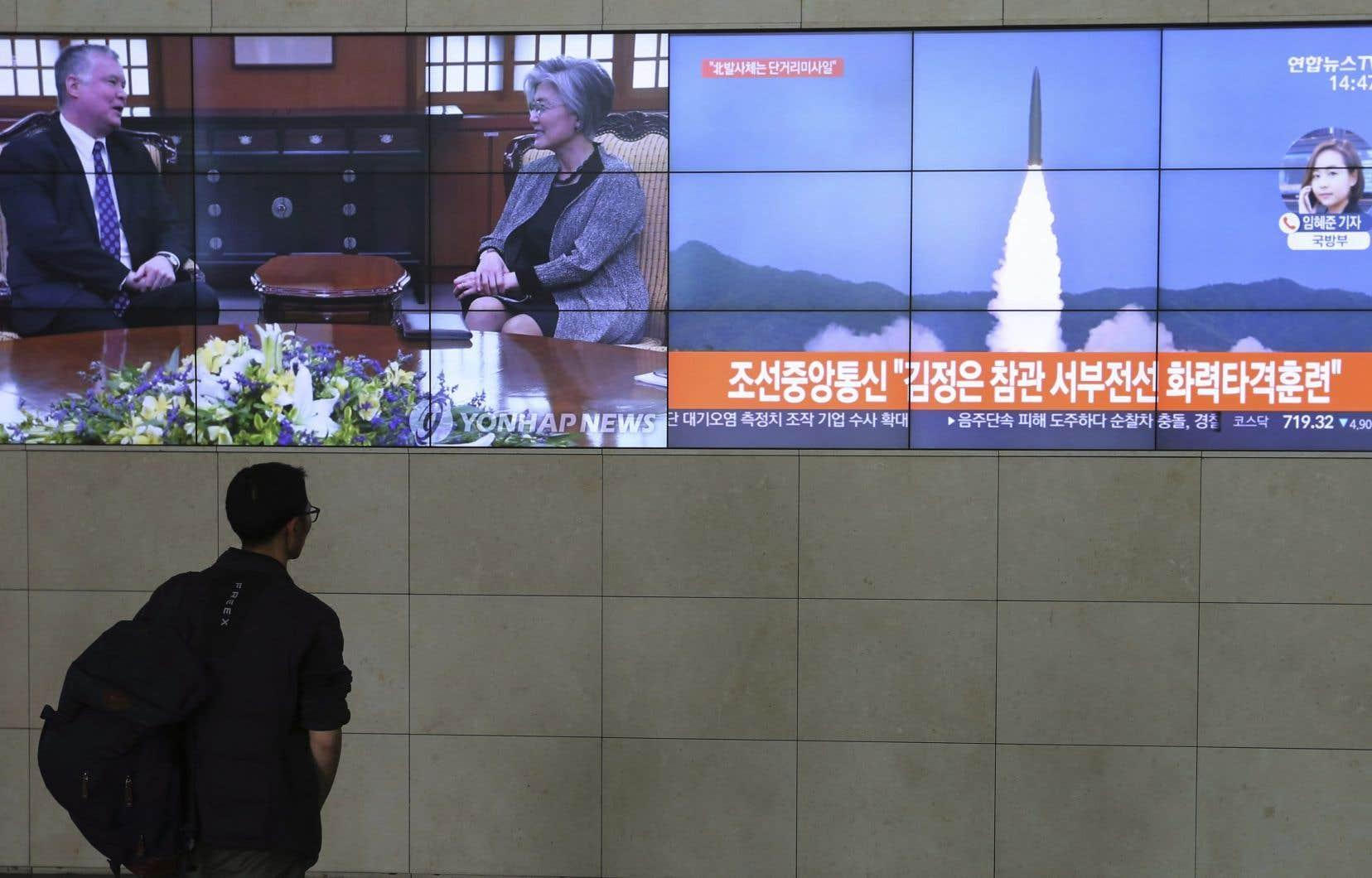 Pyongyang a réalisé récemmentdeux récents essais de missiles.