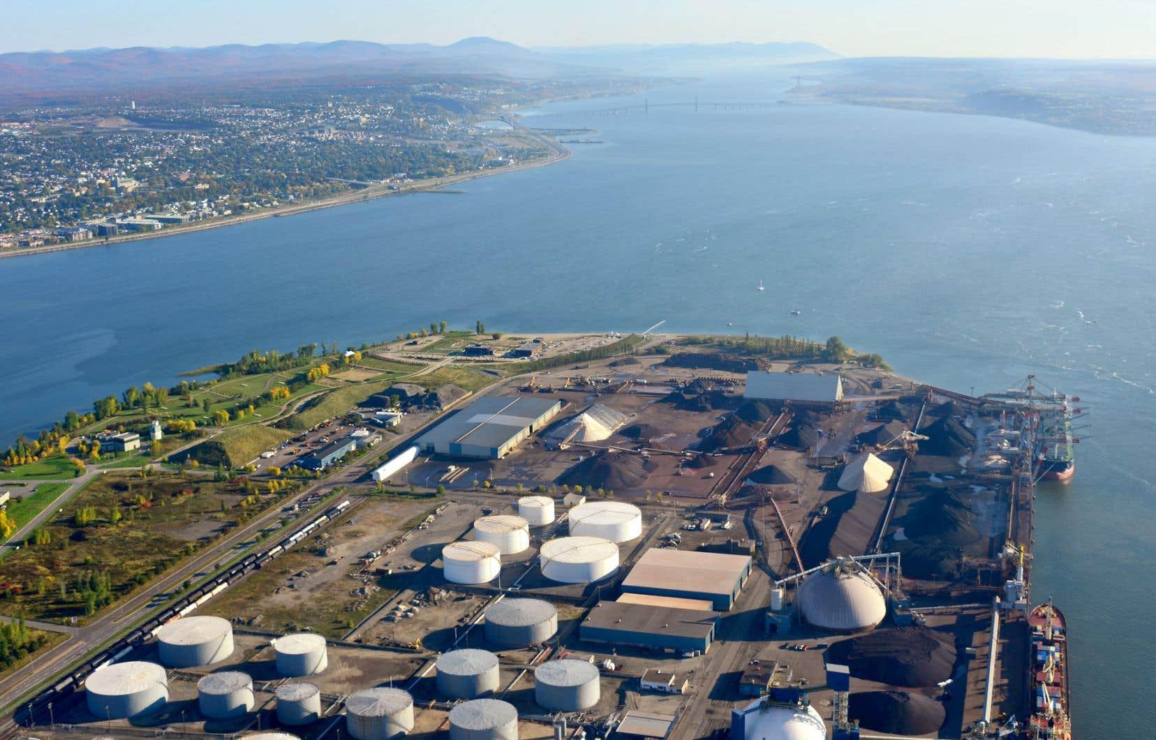 Le projet d'expansion du port de Québec, qui menacerait l'habitat essentiel d'une espèce en péril, n'a pas encore passé le test de l'évaluation environnementale.