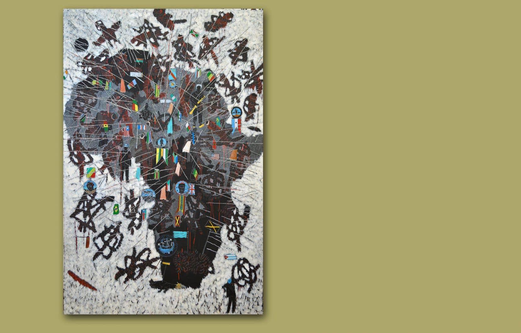 Omar Ba, «Afrique Now», 2015