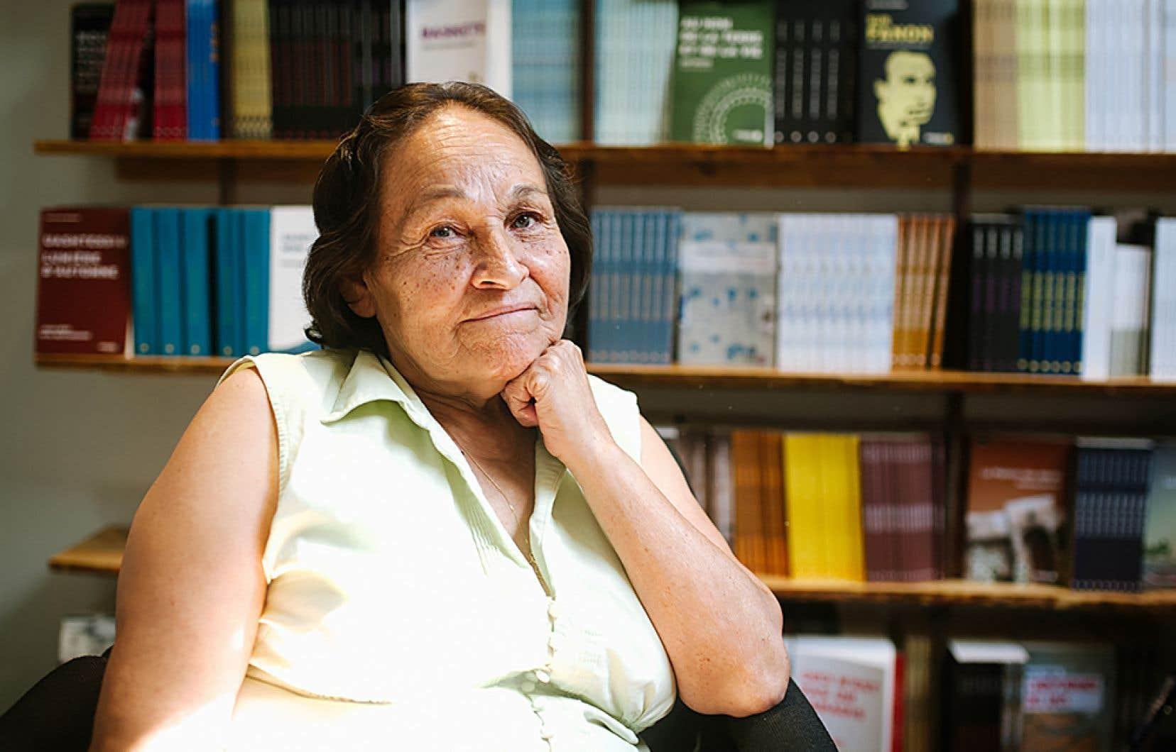 La poèteJoséphine Bacon fait partie des écrivains qui offrirontdes ateliers d'écriture, animations et autres réflexions lors des17esCorrespondances d'Eastman.