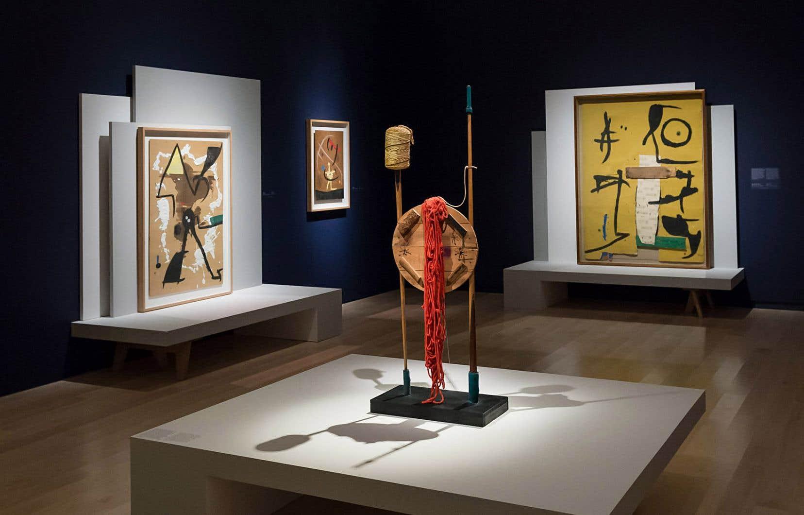 L'exposition «Miró à Majorque. Un esprit libre» montre combien le peintre et sculpteur Joan Miró a transgressé toutes les frontières, y compris les siennes, renouvelant sans cesse sa pratique.