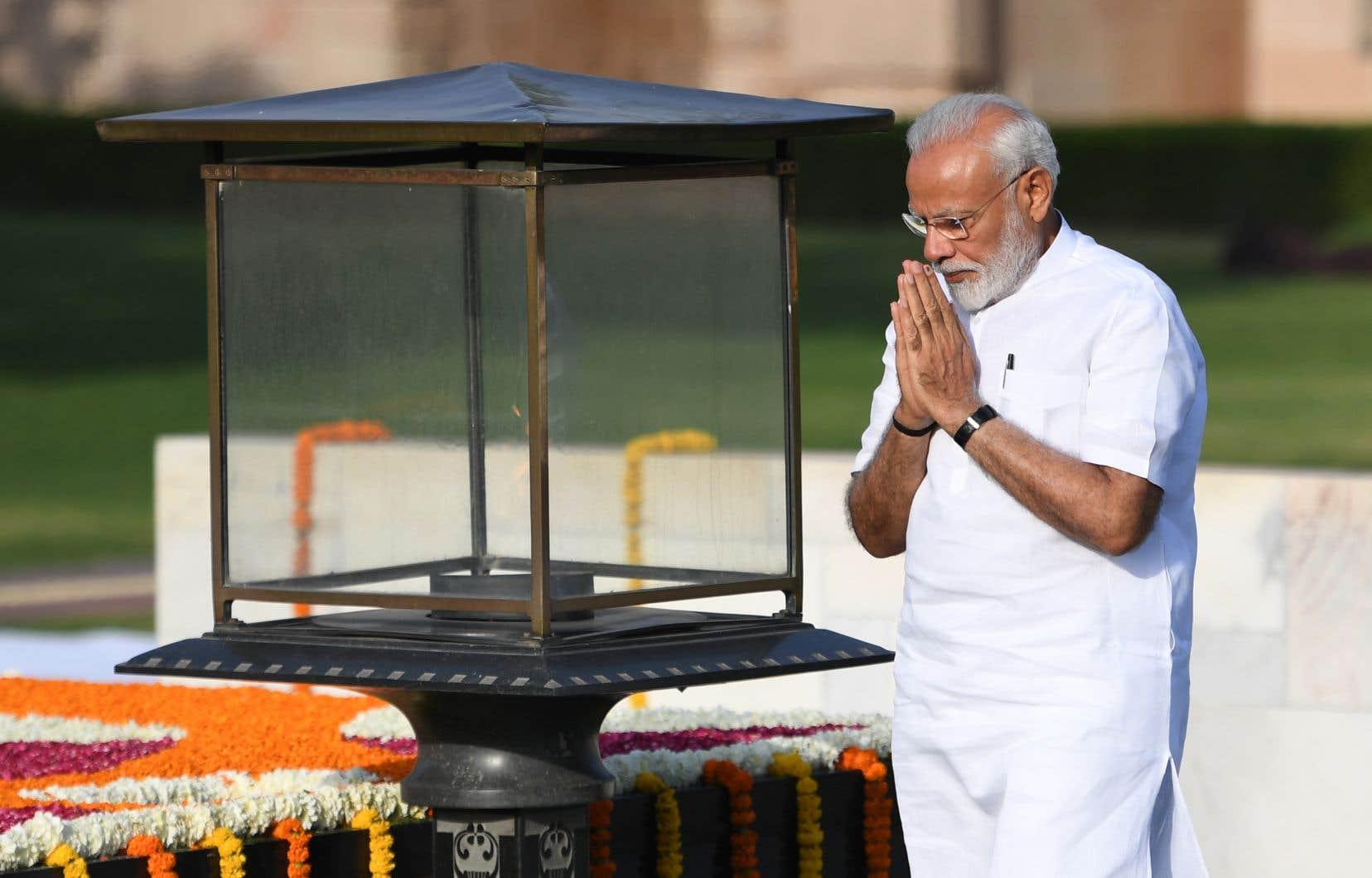Narendra Modi, 68 ans, avait fait des élections législatives un quasi-référendum sur sa personne.
