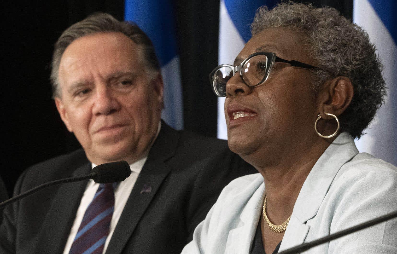 Le premier ministre François Legault estime qu'il y aura au terme de l'enquête que mènera la commission dirigée par Régine Laurent «un avant et un après Granby».