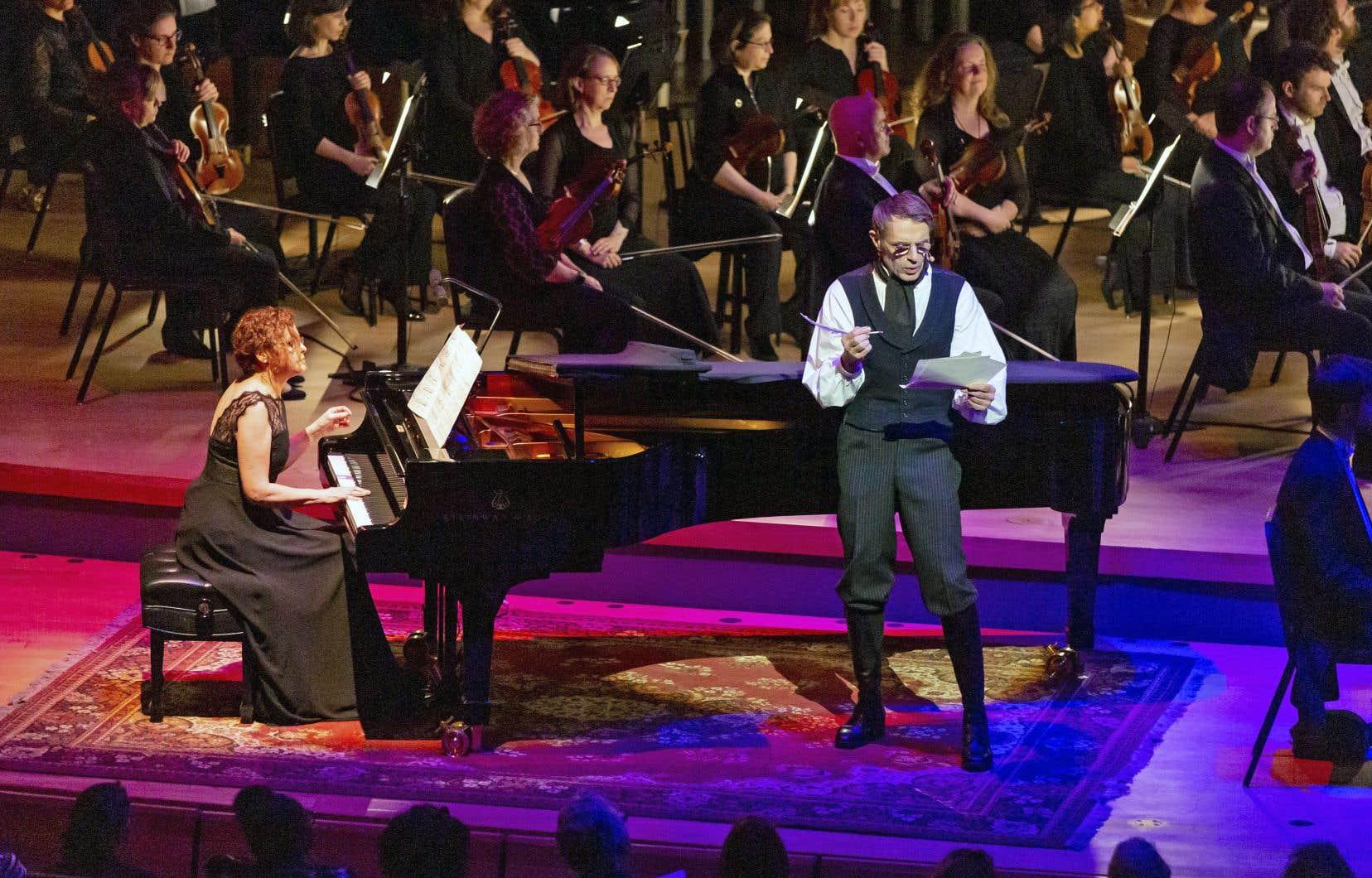 L'acteur français Lambert Wilson effectue la narration du programme de la «Symphonie fantastique».