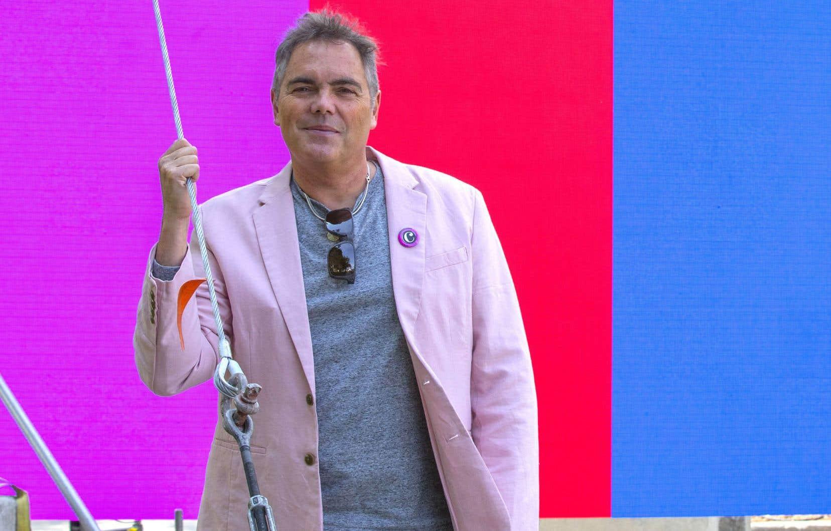 Le baryton Marc Boucher, directeur artistique du festival. Le concert «Francophonique» mêlera pop et classique.