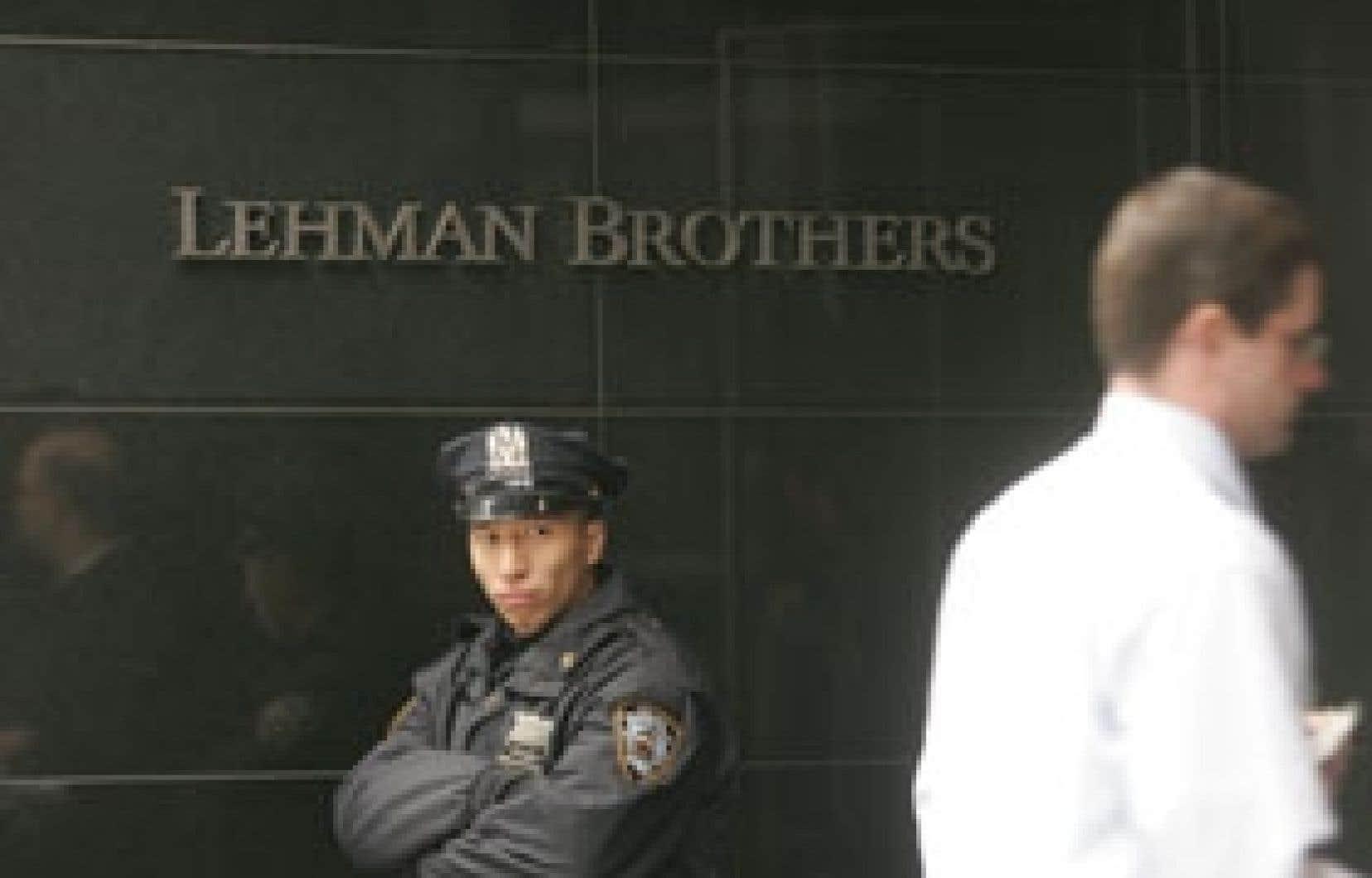 Lehman Brothers fait face depuis des mois à un mouvement de méfiance des marchés financiers.