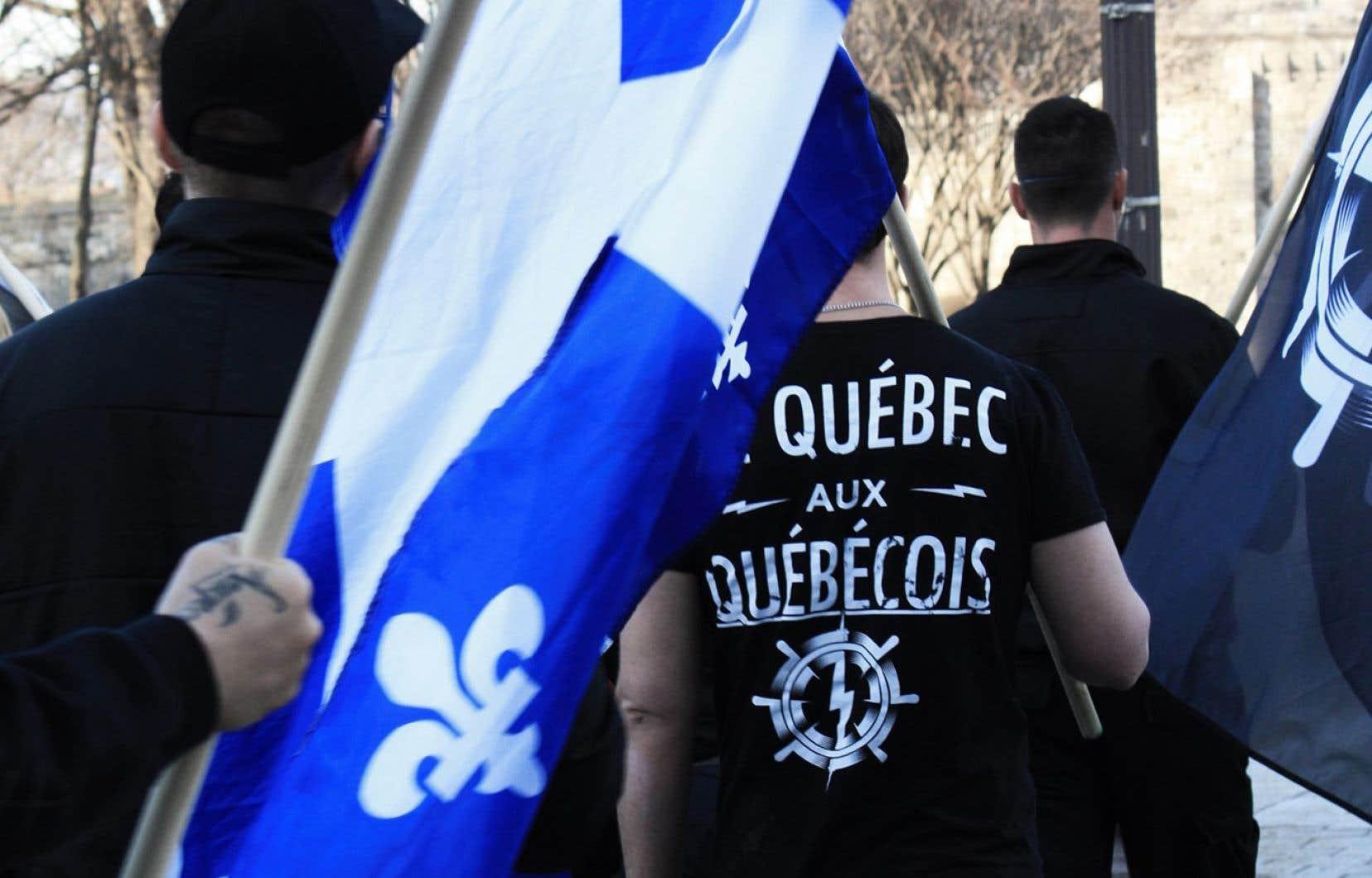 Frédérick Nadeau, candidat au doctorat en études urbaines à l'Institut national de la recherche scientifique (INRS),soutient que l'engagement dans l'extrême droite est vu comme une forme d'«empowerment».