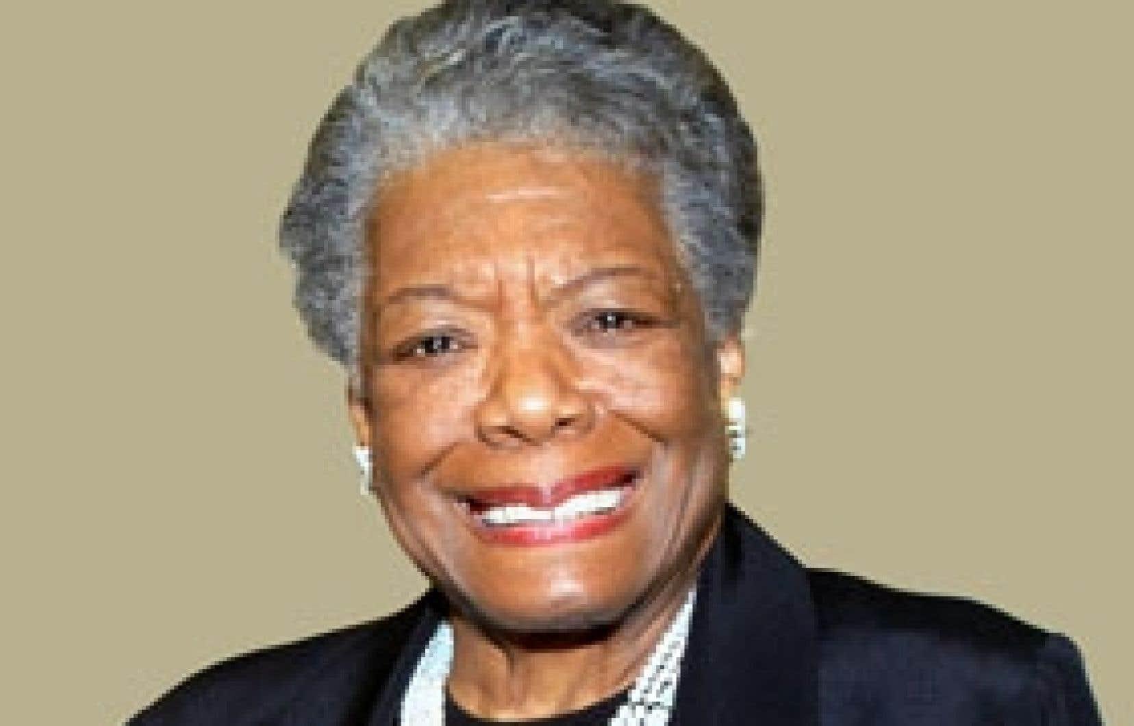 Maya Angelou. Photo: Ted Hellins