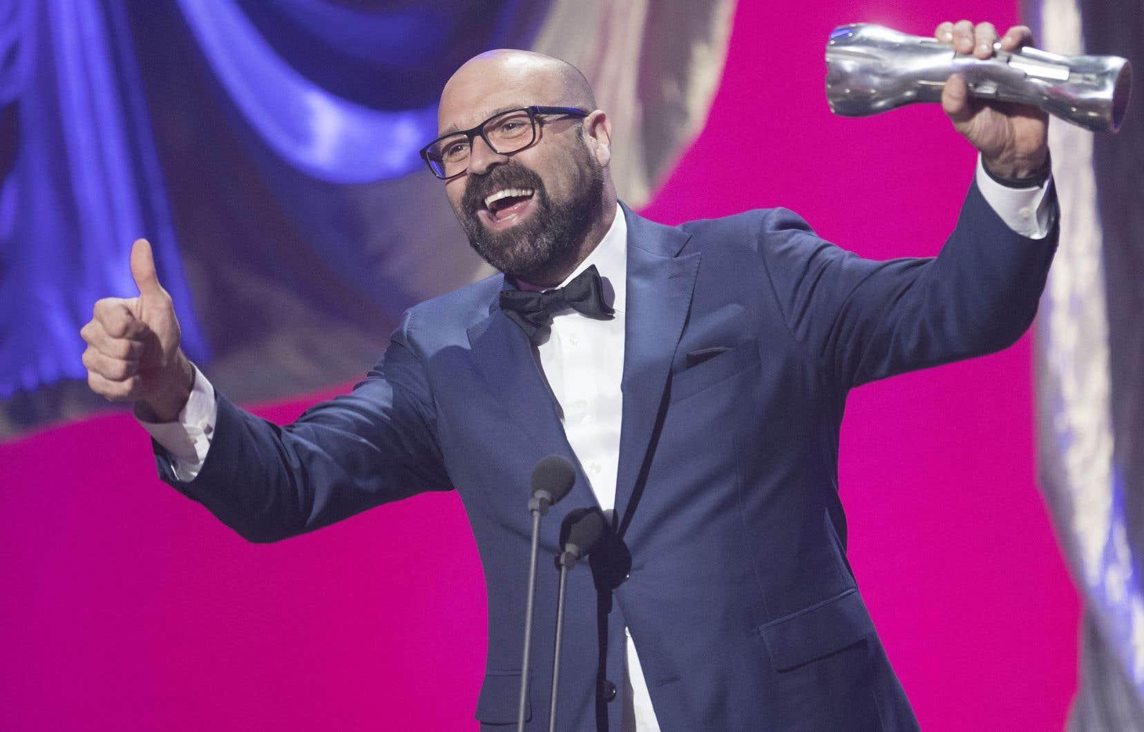 Une soirée pleine de succès pour Ricardo Trogi qui a remporté l'Iris du Meilleur long métrage, mais aussi celui de la Meilleure réalisation et le prix du Publicpour son film «1991».