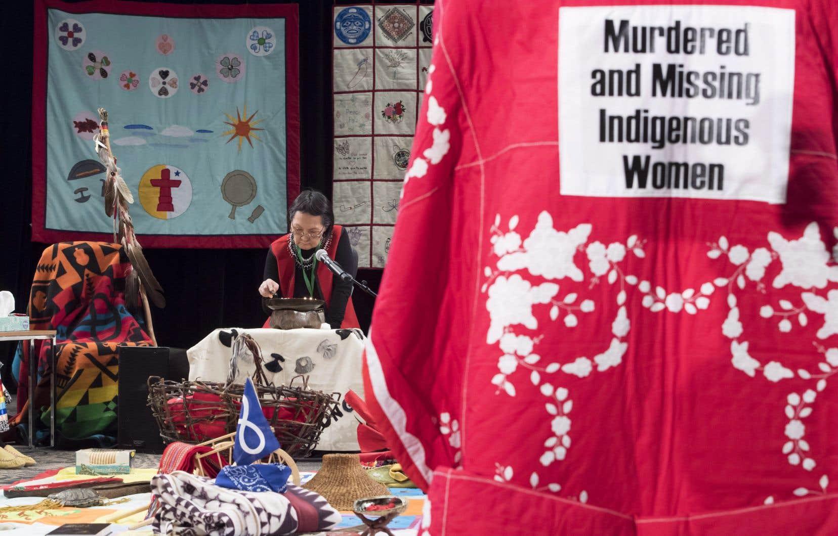 L'enquête nationale sur les femmes autochtones a été mise sur pied en août 2016.
