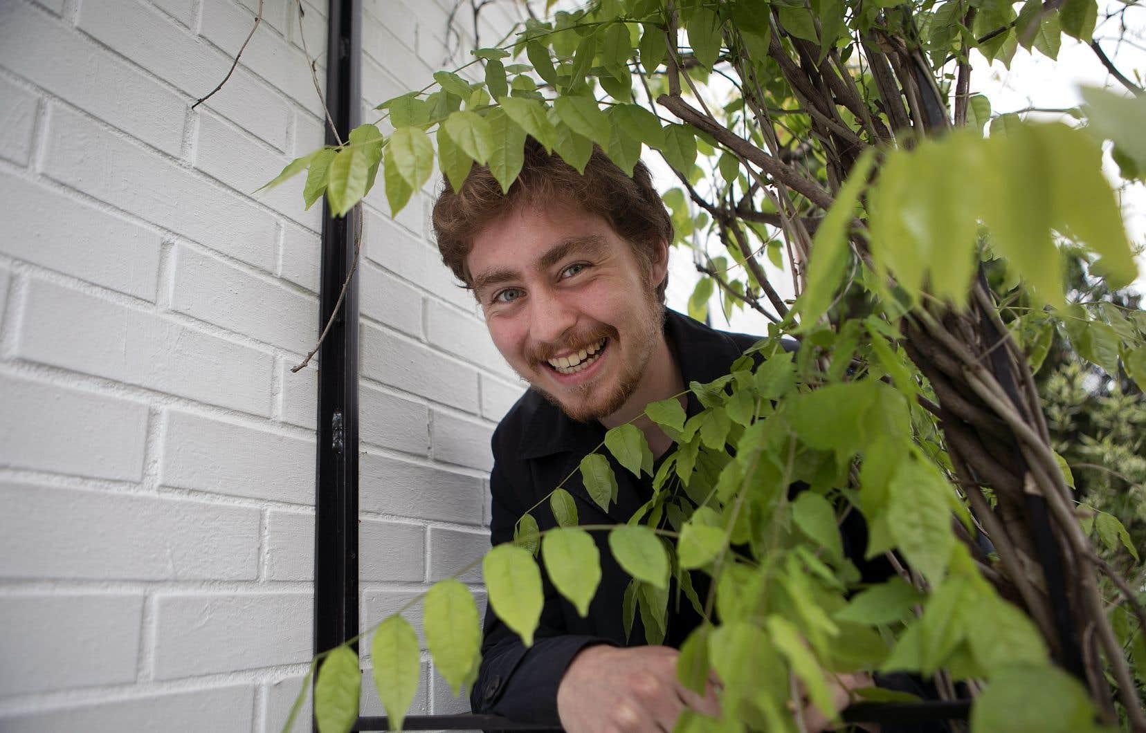 Corentin Bisot est à l'origine du Manifeste étudiant pour unréveil écologique.