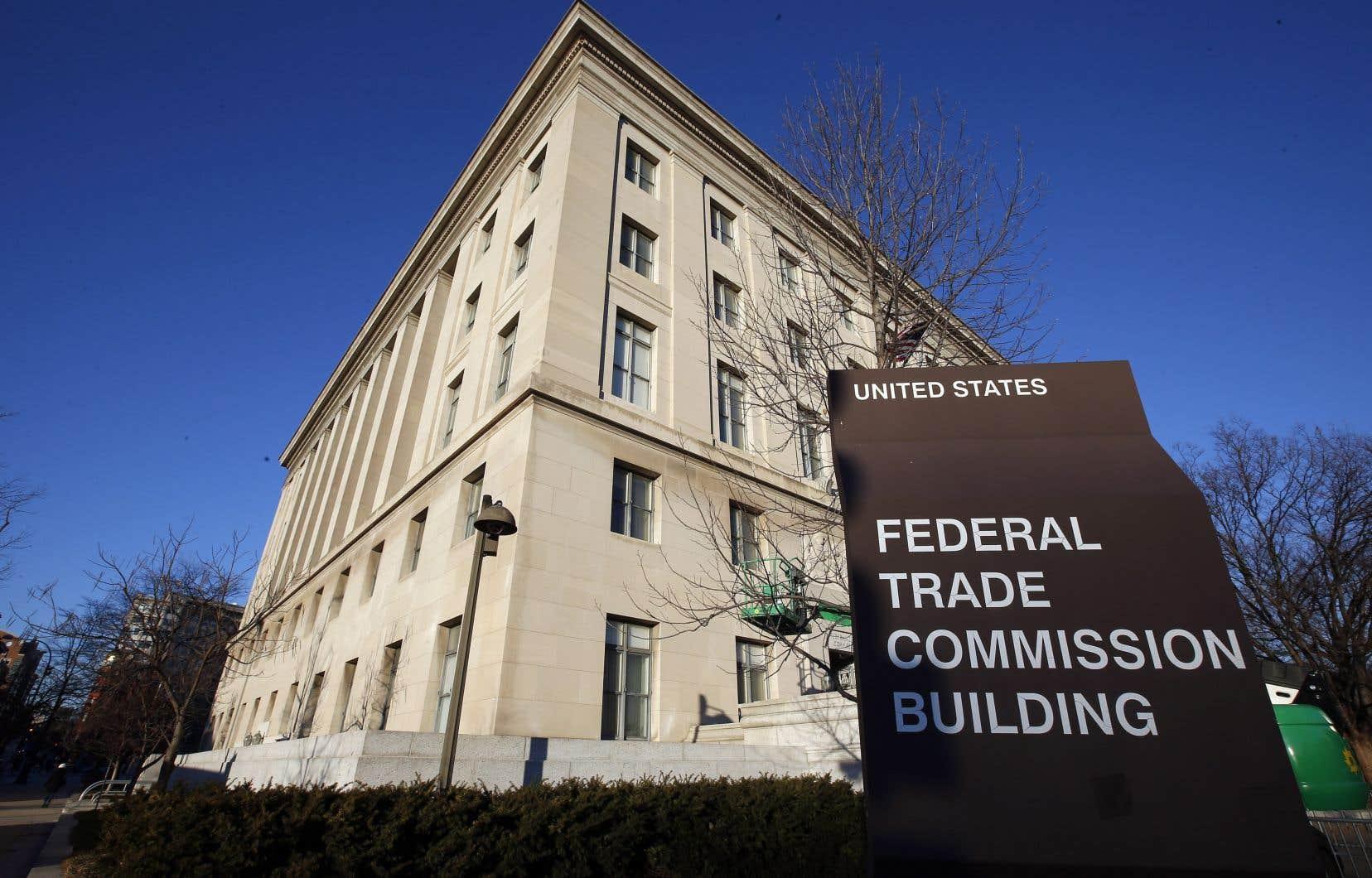Les bureaux de la Federal Trade Commission, à Washington