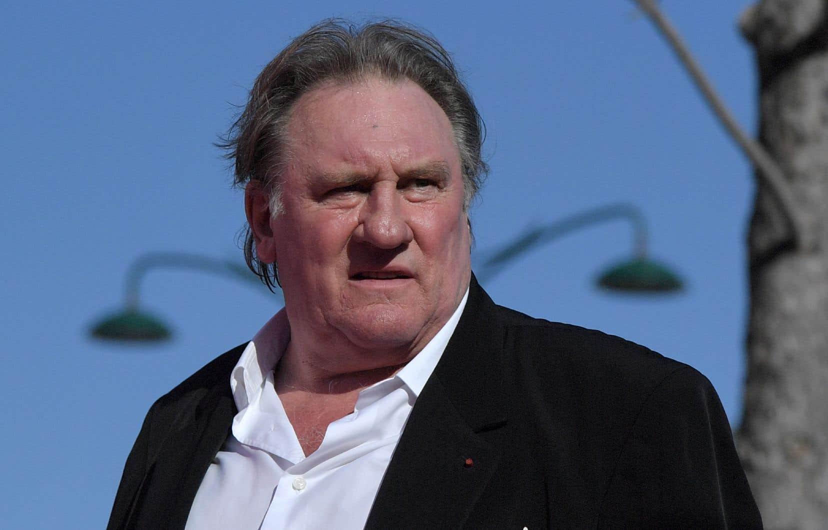 L'acteur français Gérard Depardieu