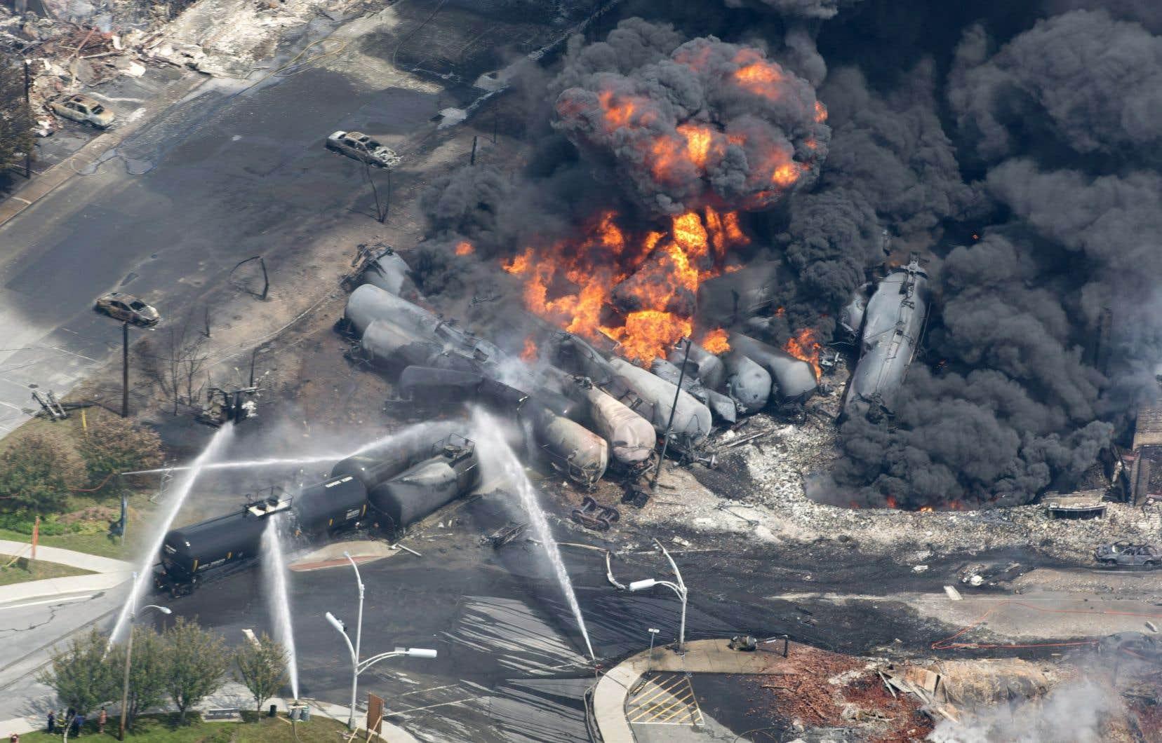 La tragédie ferroviaire de Lac-Mégantic avant fait 47 victimes.