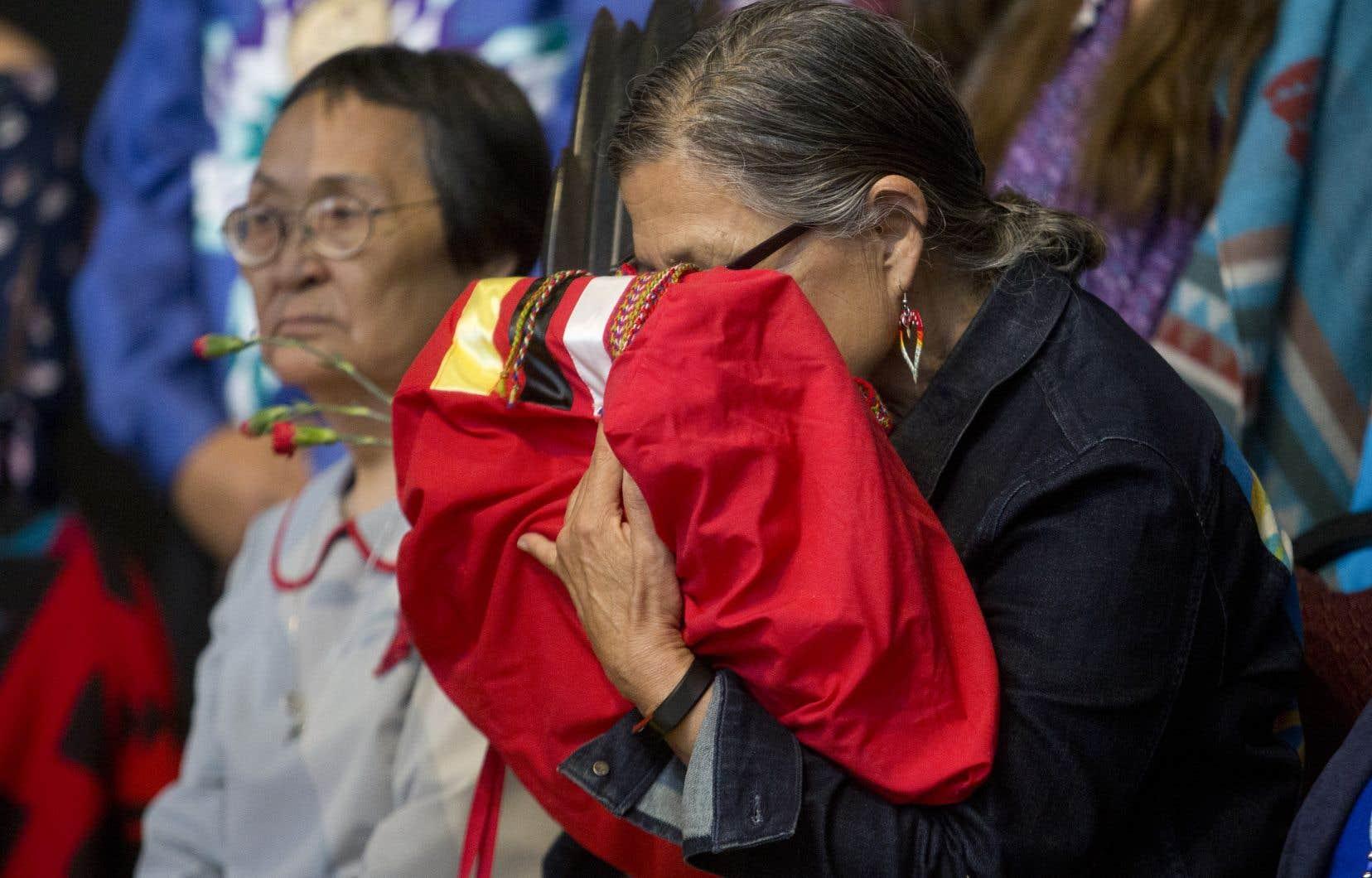 Le rapport de l'Enquête nationale sur les femmes et les filles autochtones disparues et assassinées a été dévoilé lundi.