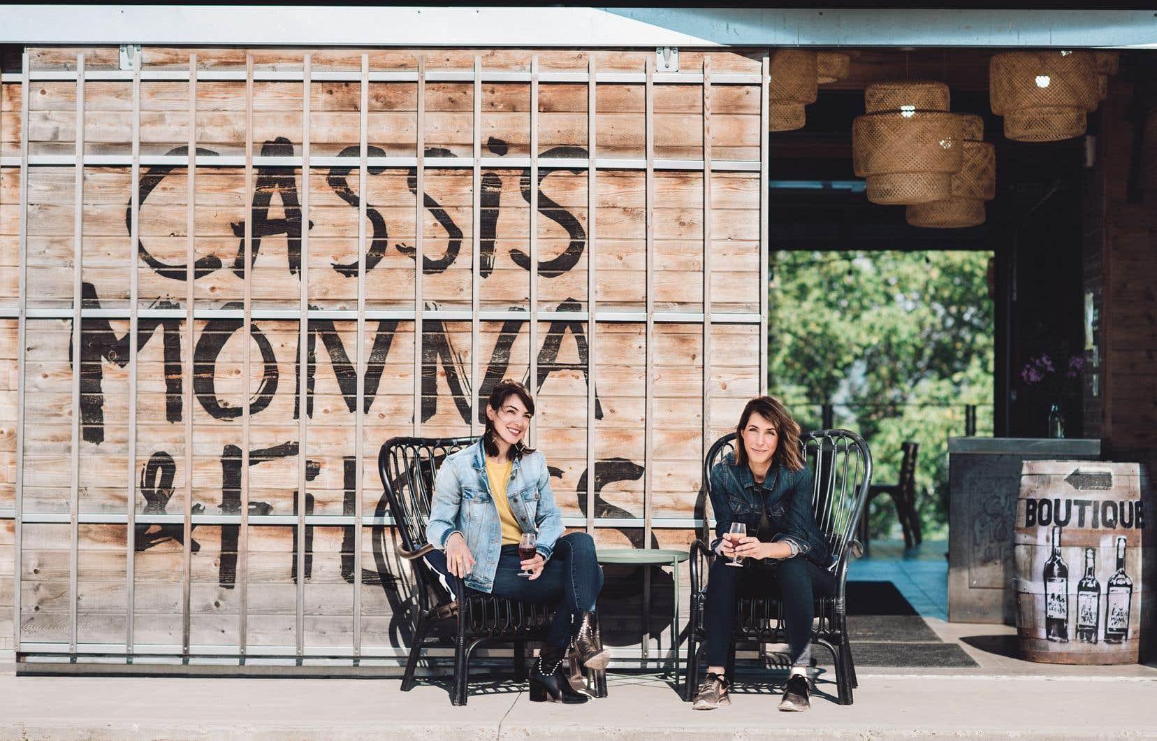 Anne et Catherine Monna ont pris les rênes de l'entreprise familiale au début des années 2000.
