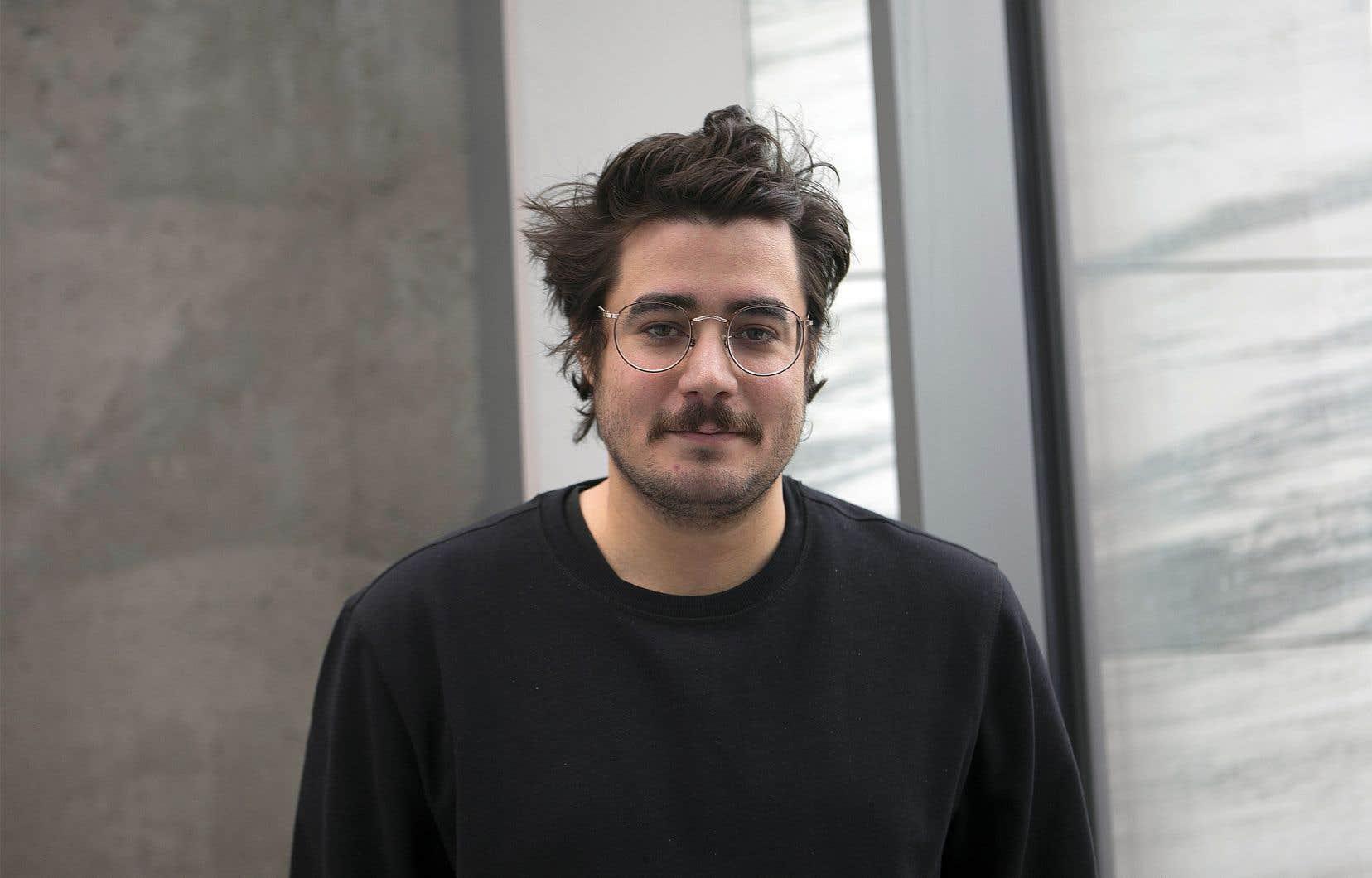 Les collégiens ont élu le roman de Jean-Christophe Réhel en avril dernier, à Québec.