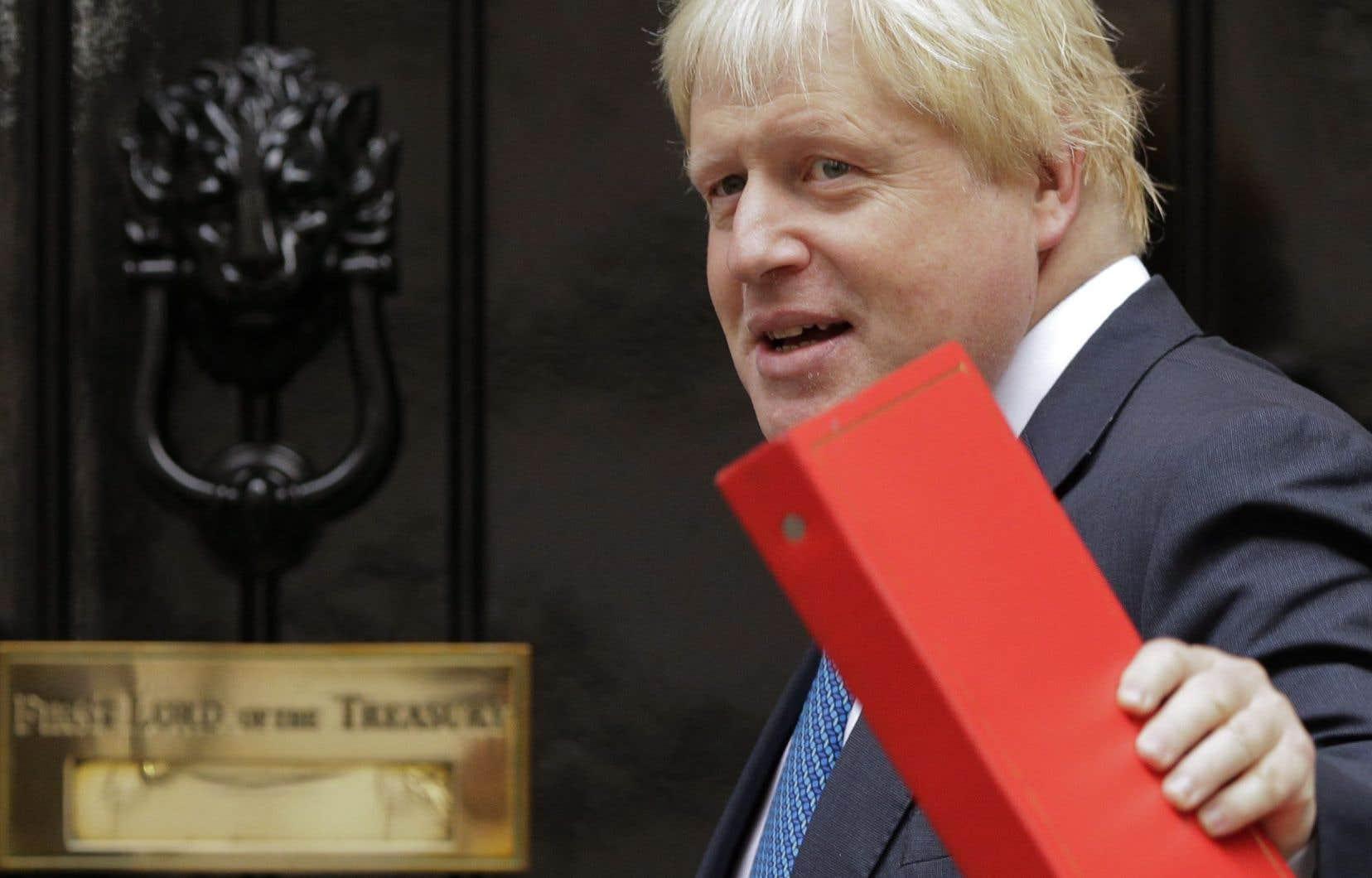 Boris Johnson,ex-ministre britannique des Affaires étrangères.