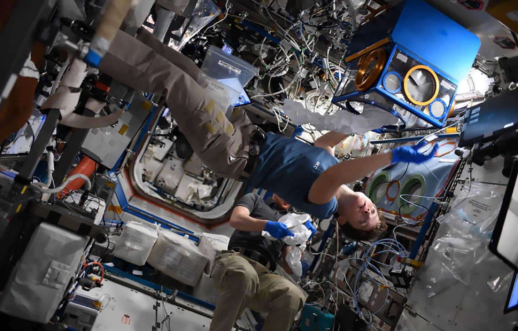 Des astronautes privés pour séjourner dans la station jusqu'à 30 jours.