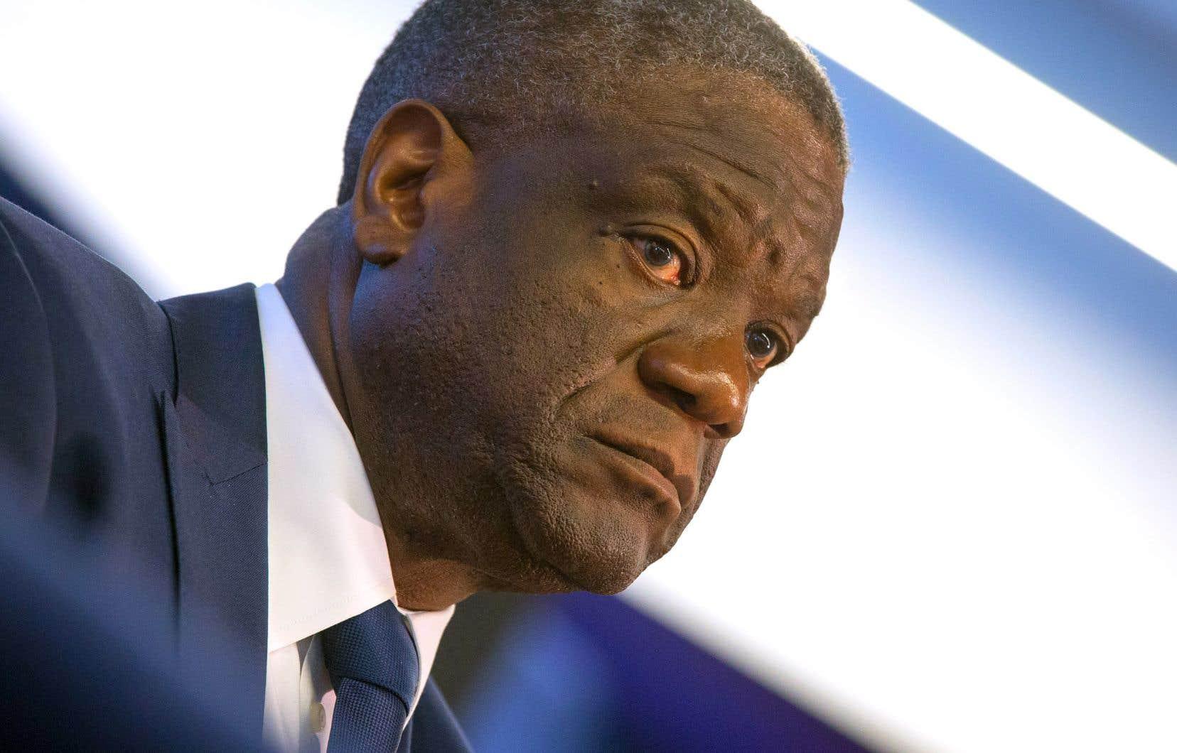 De passage à Montréal, le Dr Denis Mukwege a rappelé que la violence sexuelle n'avait ni culture ni frontières, qu'elle était l'affaire de tous.