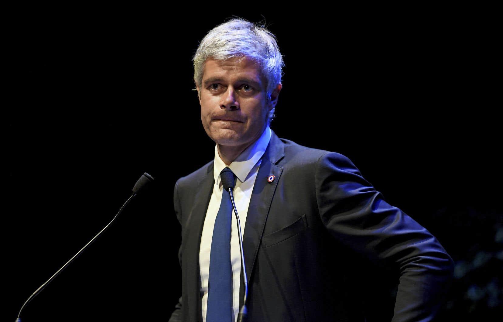 Le président du parti Les Républicains, Laurent Wauquiez, a démissionné la semaine dernière.
