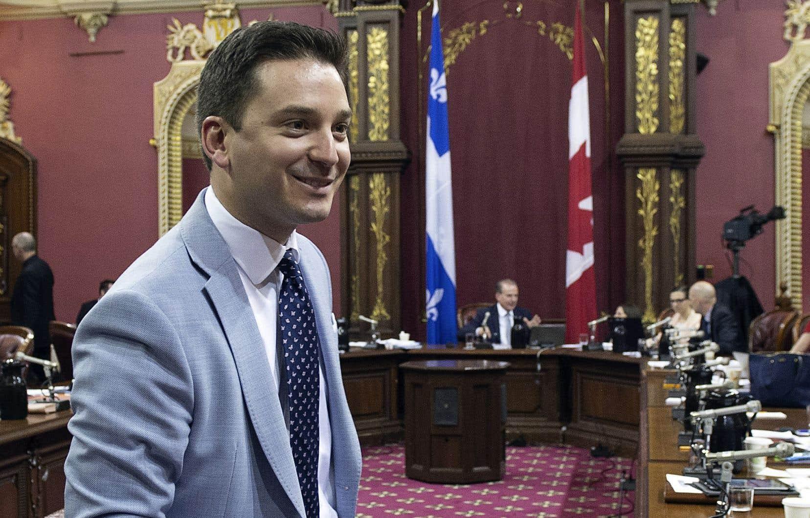 Simon Jolin-Barrette estime qu'il est encore possible de «travailler de façon constructive» pour faire adopter le projet de loi 9 d'ici vendredi.