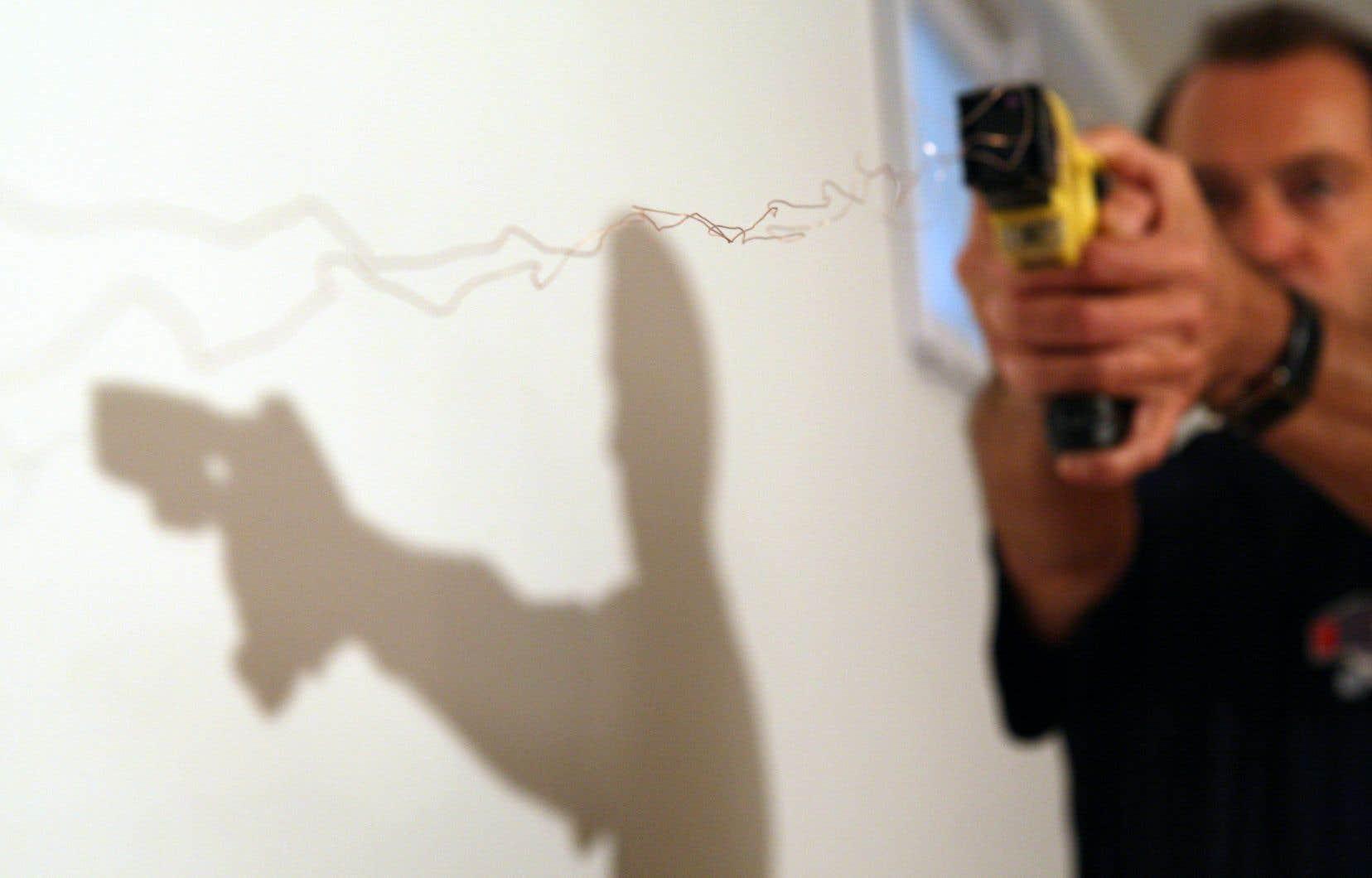 En 2018, un seul contact et 46 projections avec le pistolet impulsion électriqueont été répertoriés.