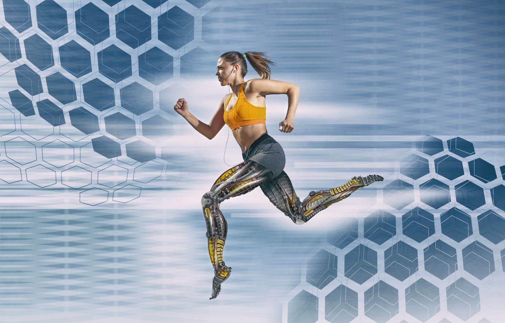 Avancée possible grâce à l'intégration de l'intelligence artificielle des produits: décortiquer précisément le mouvement des athlètes.