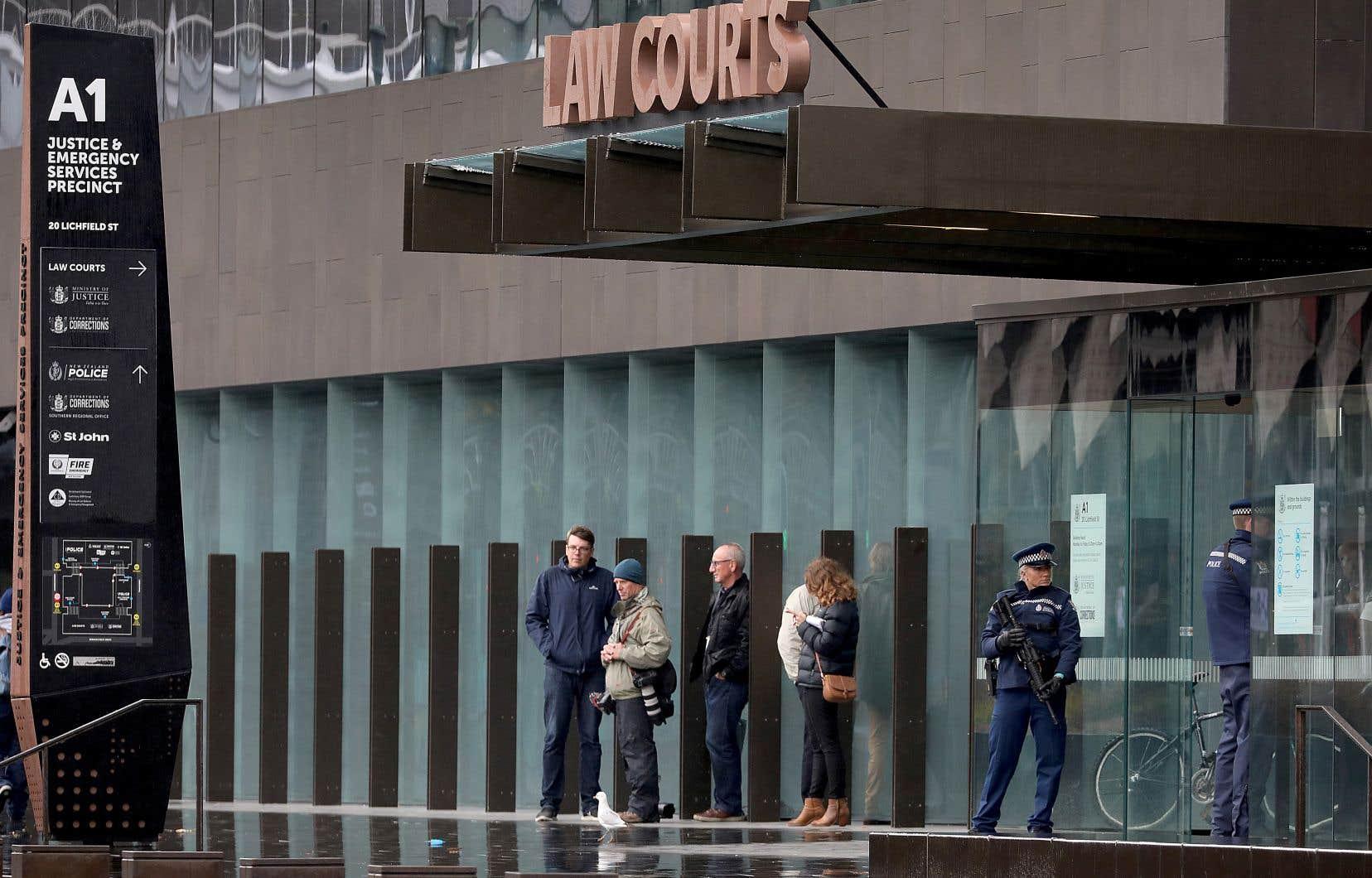 L'Australien de 28 ans a comparu vendredi devant la Haute Cour de Christchurch pour le massacre du 15 mars.