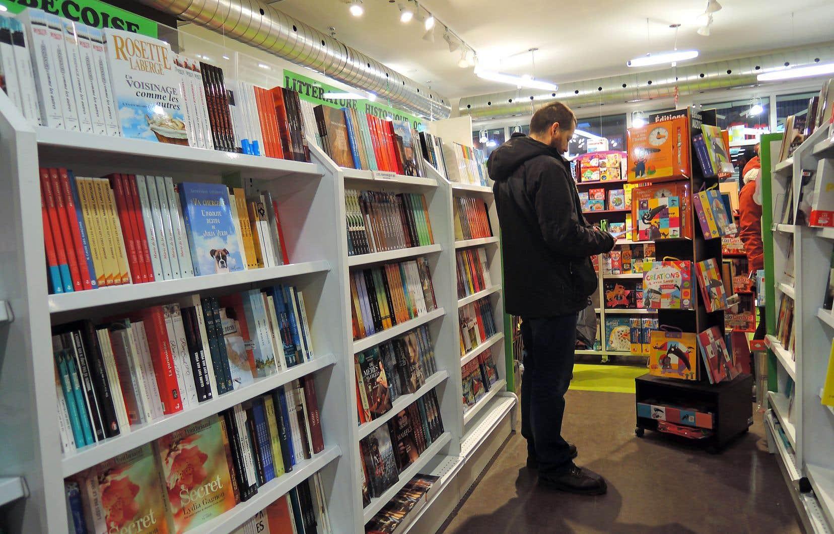Le livre québécois continue essentiellement de se vendre de manière traditionnelle, en passant par les bonnes vieilles caisses enregistreuses.