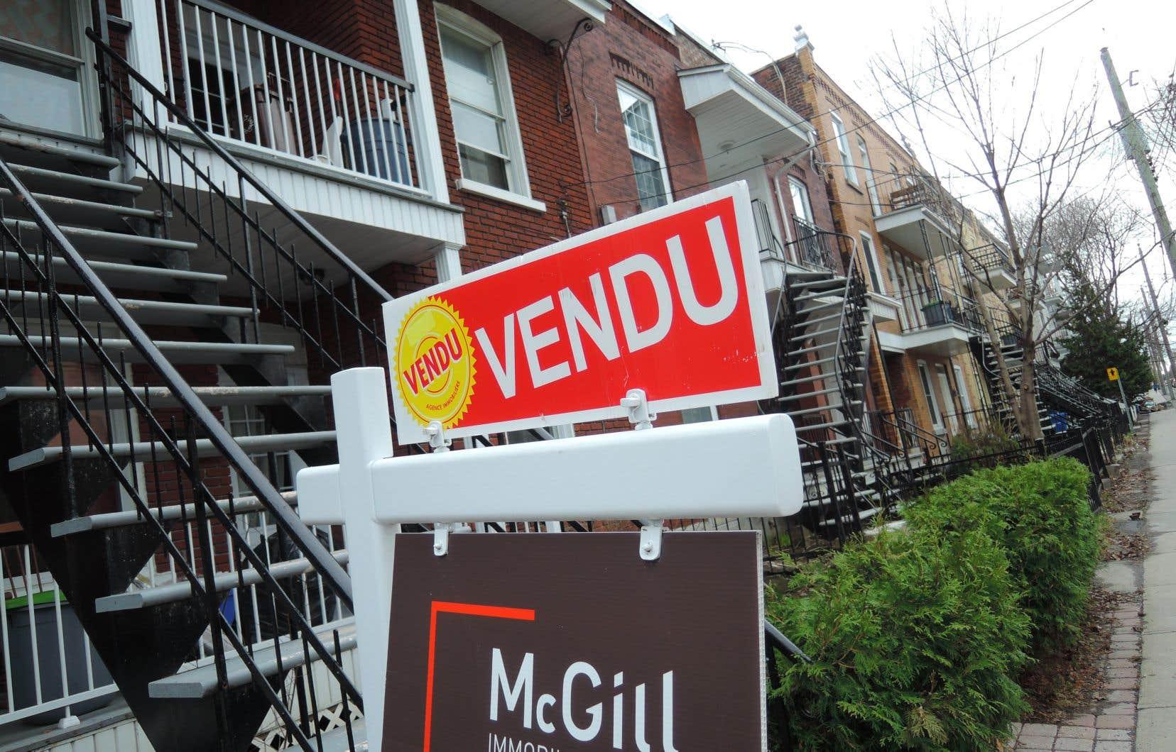Le prix moyen national d'une maison vendue en mai était proche de 508000$, en hausse de 1,8% par rapport à l'année dernière.