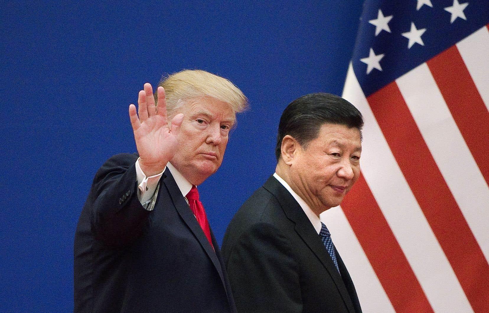 Le président américain, Donald Trump, et son homologue chinois, Xi Jinping