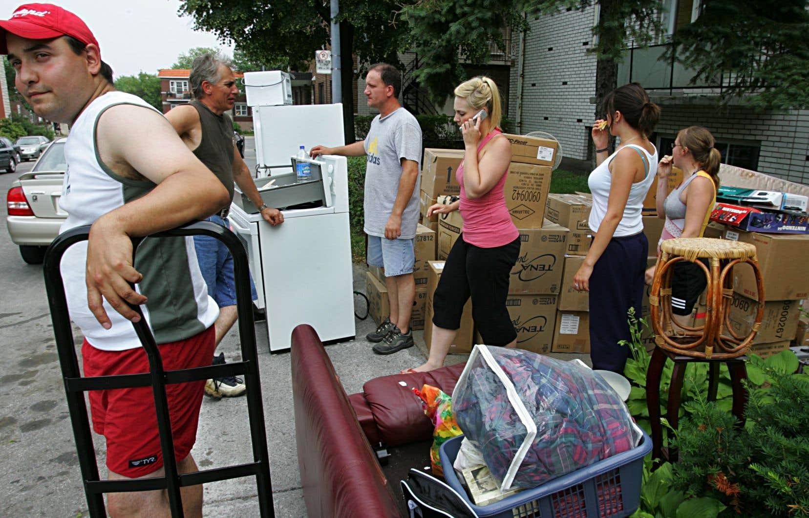 Le 1erjuillet, jour du déménagement, est une date estivale emblématique au Québec avec des milliers de déplacements qui accompagnent la fin de plusieurs baux résidentiels.