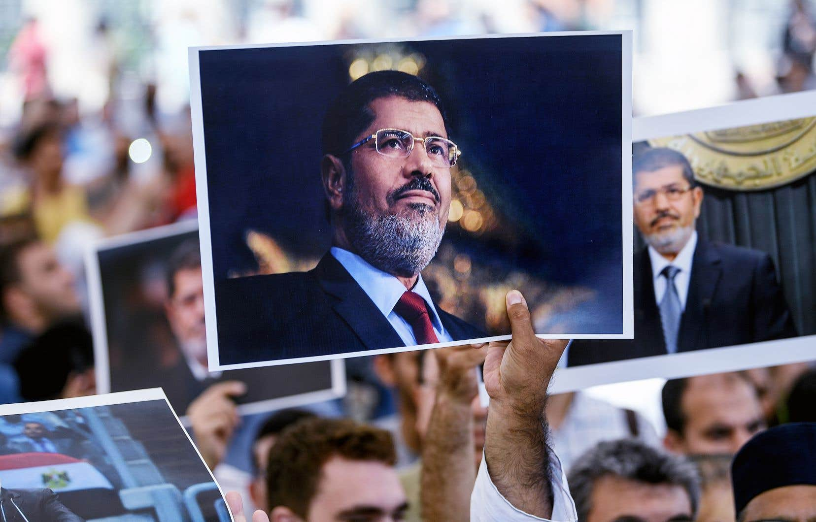 Une cérémonie funéraire symbolique en l'honneur de Mohamed Morsi a eu lieu mardi, à Istanbul.