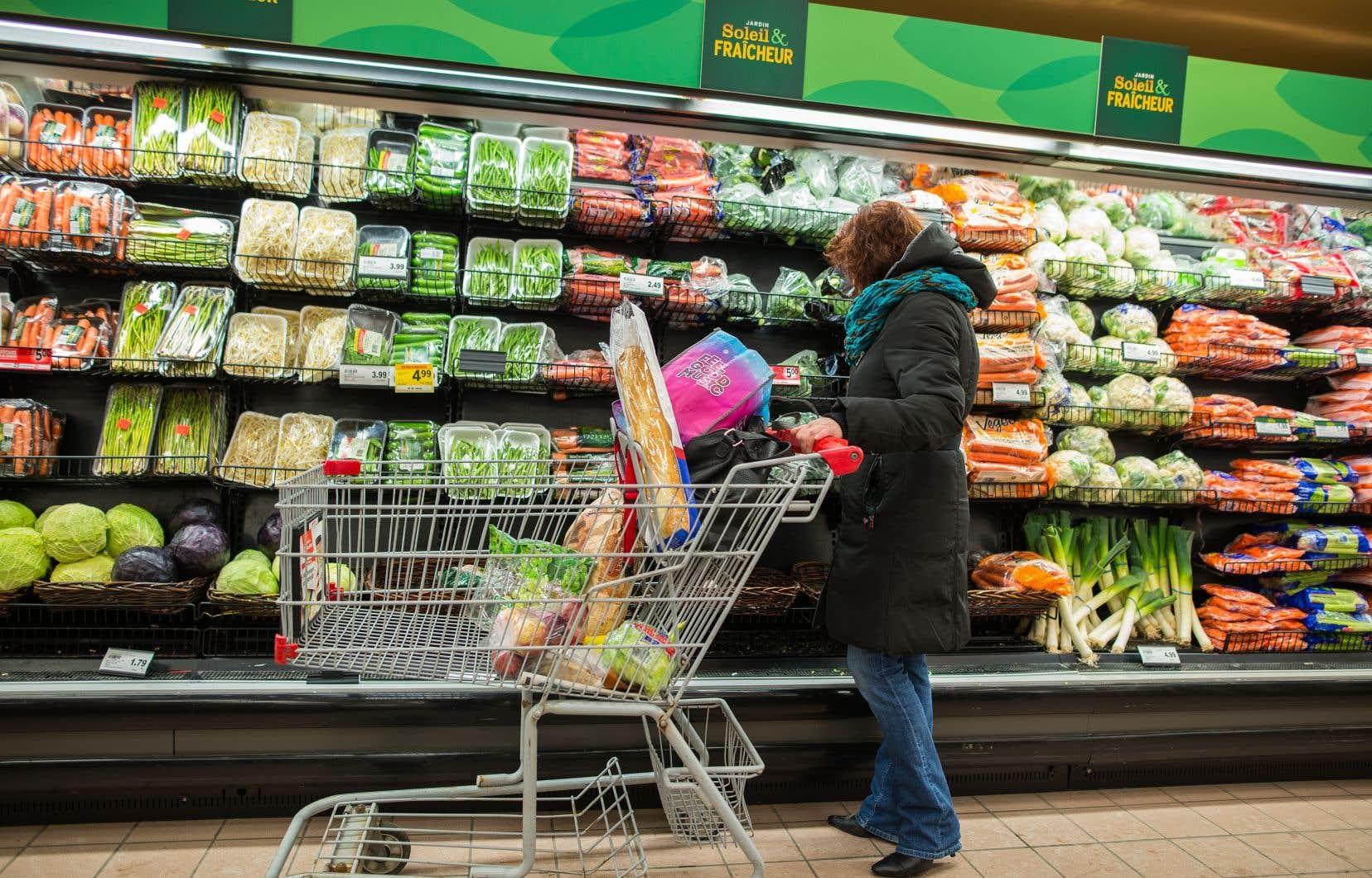 Les prix plus élevés des aliments, de 3,5%, et des transports, de 3,1%, ont particulièrement contribué à la croissance accrue de l'indice des prix d'ensemble.